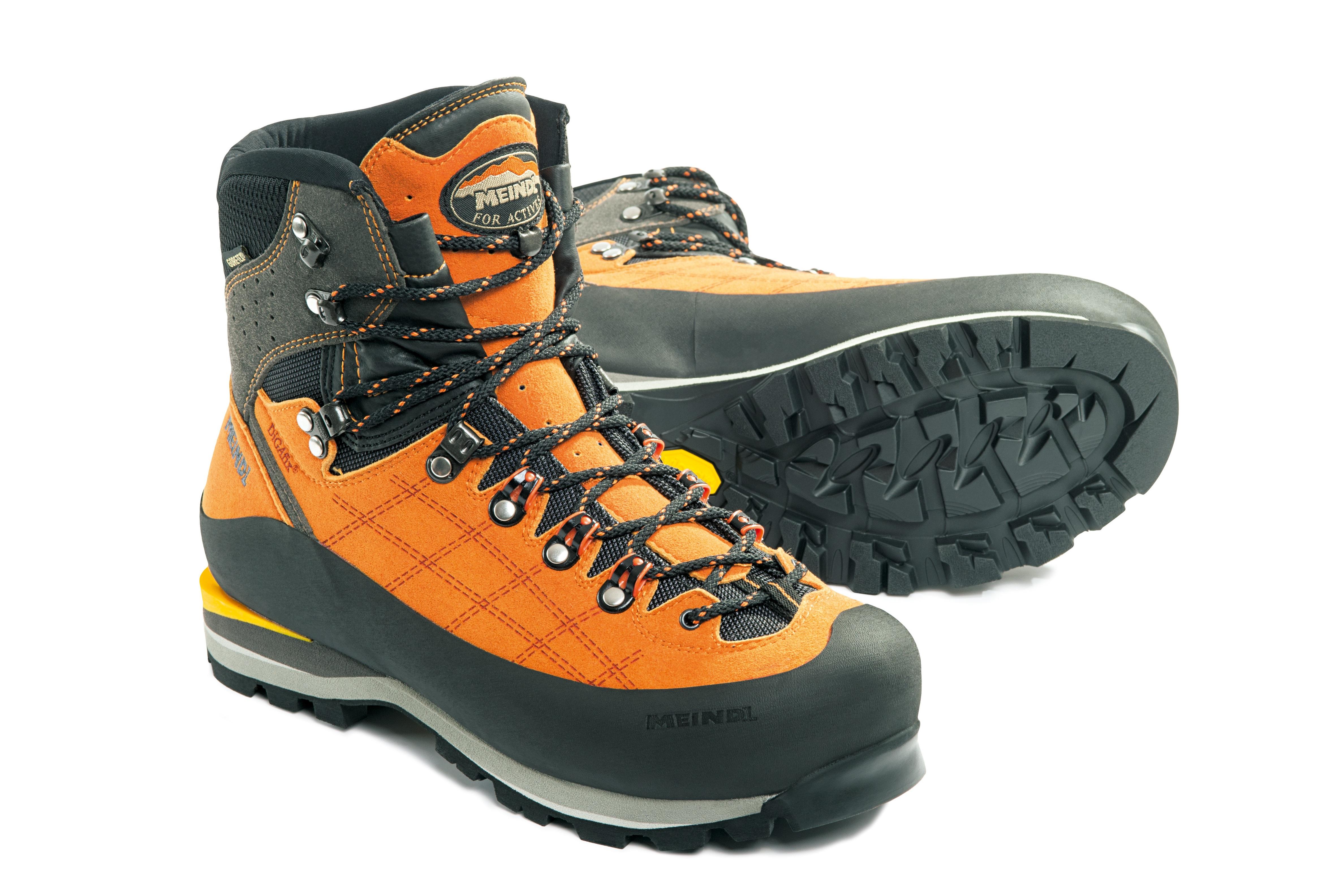 sepatu Hiking olahraga Jeruk peralatan olahraga sepatu mendaki Abu-abu sepatu kets alas kaki sepatu