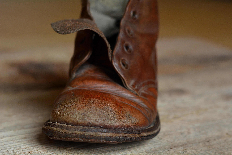 баг картинка старого ботинка практике