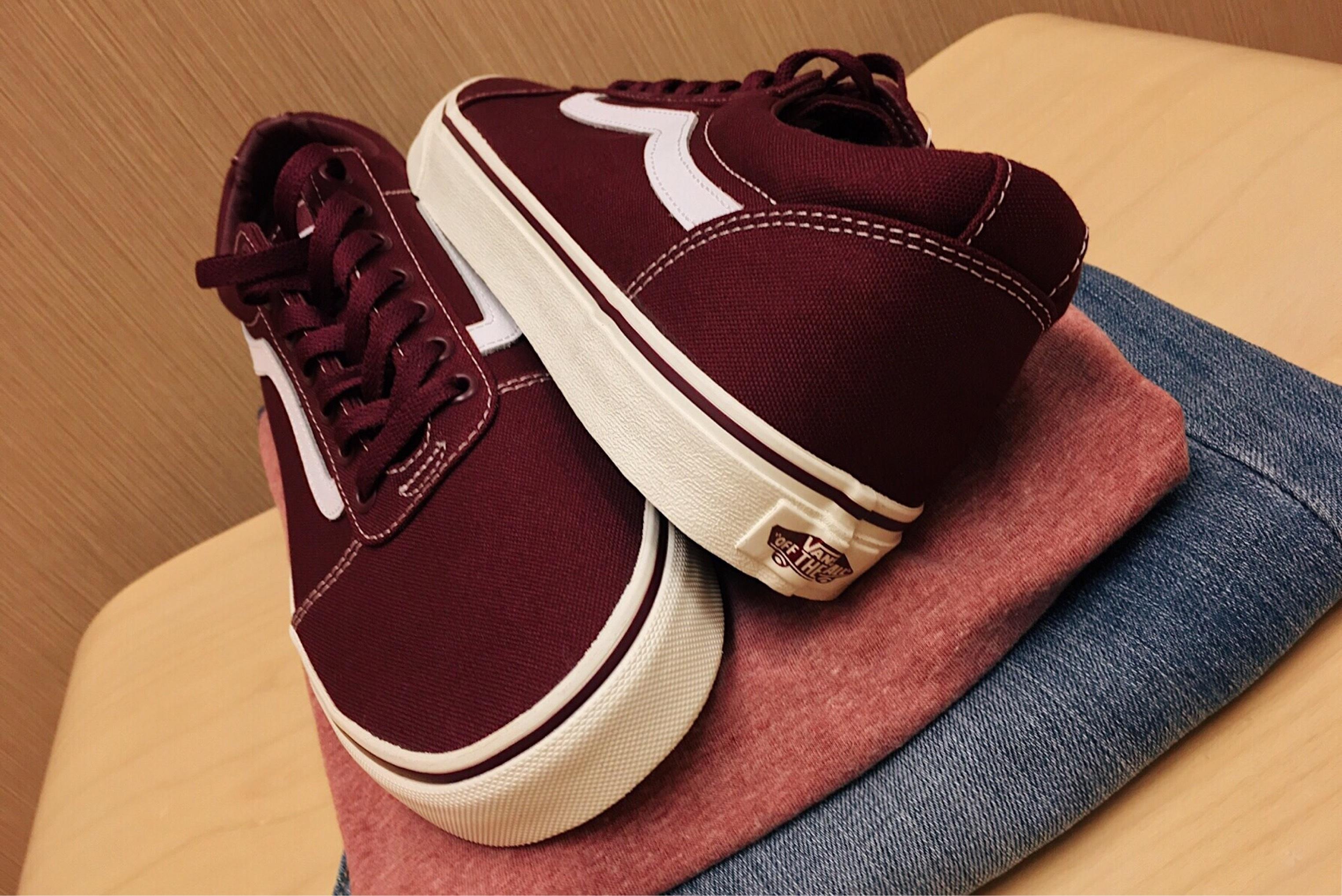 dad63086 zapato cuero pierna rojo marrón Moda ropa Hipster marca Zapatos zapatillas  calzado estilo magenta granate Zapato