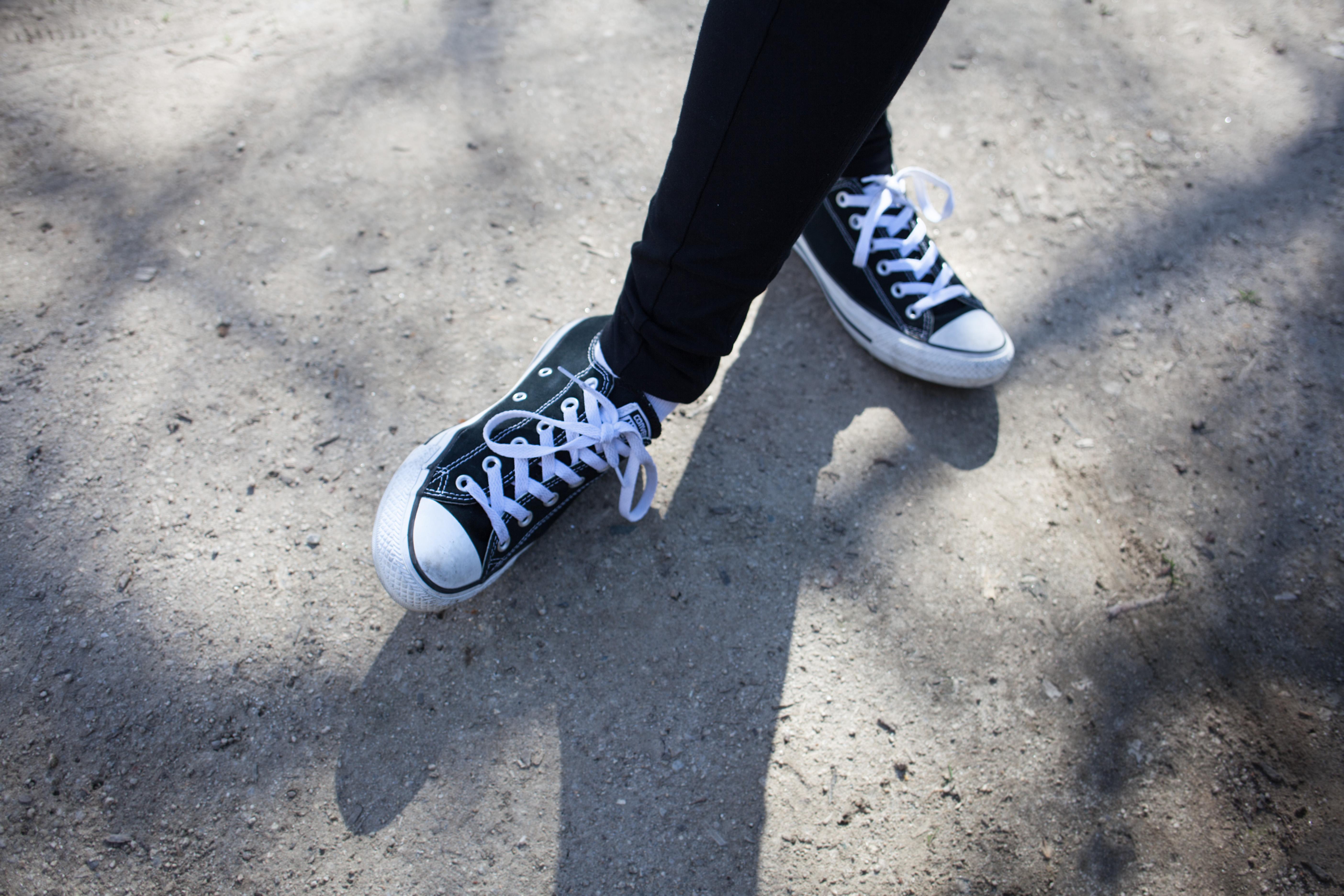 Free Images : shoe, white, feet, running, leg, sneaker