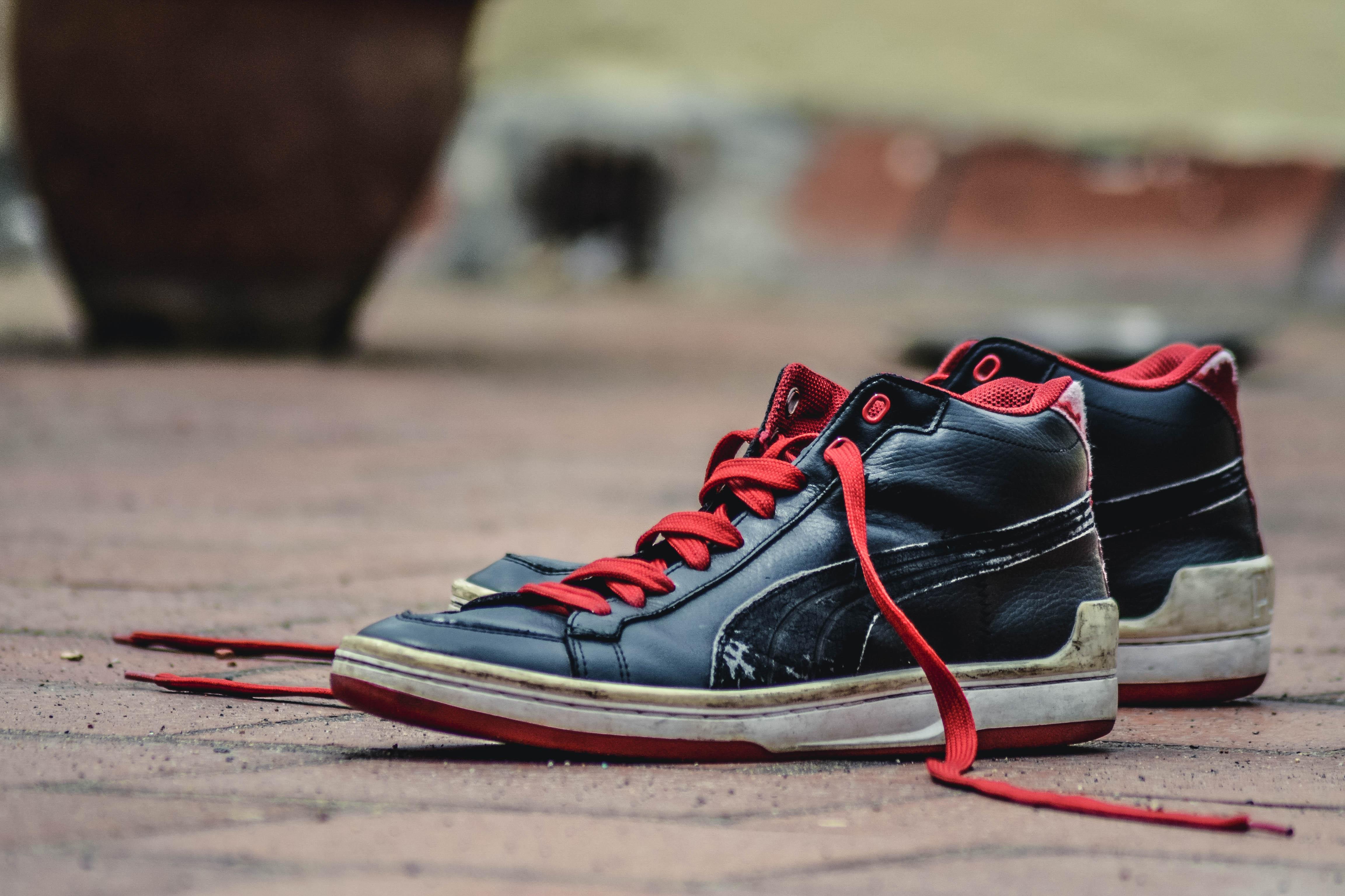 best service 68681 affac kenkä valkoinen nahka- vanha kevät punainen väri- nike karu musta kengät  lenkkarit jalkineet pari