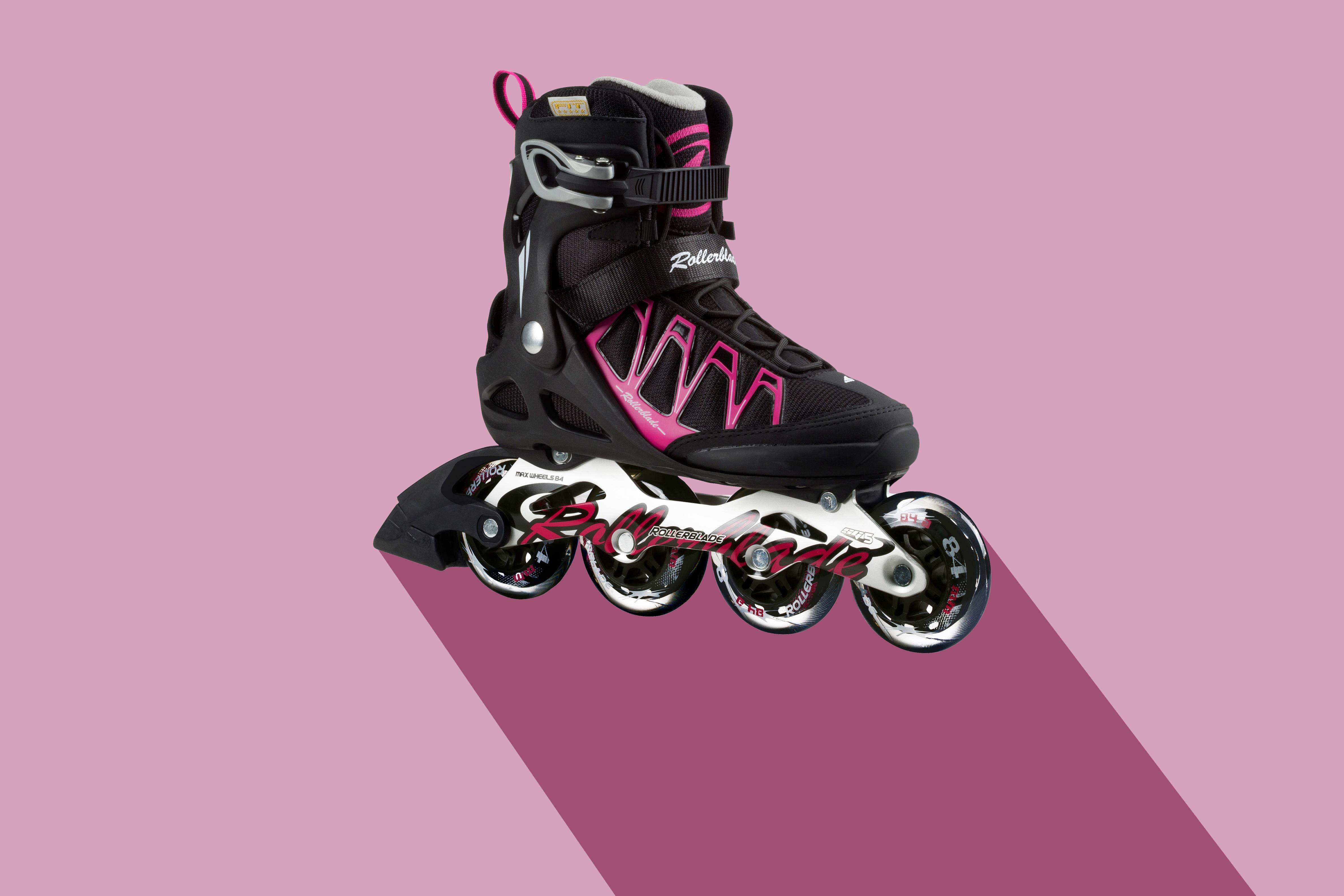 55a69e87e67 ... sports equipment, sporty, illustration, violet, footwear, roll, active,  bless you, sport shoe, roller skates, flat design, inline skate, roller  blading, ...