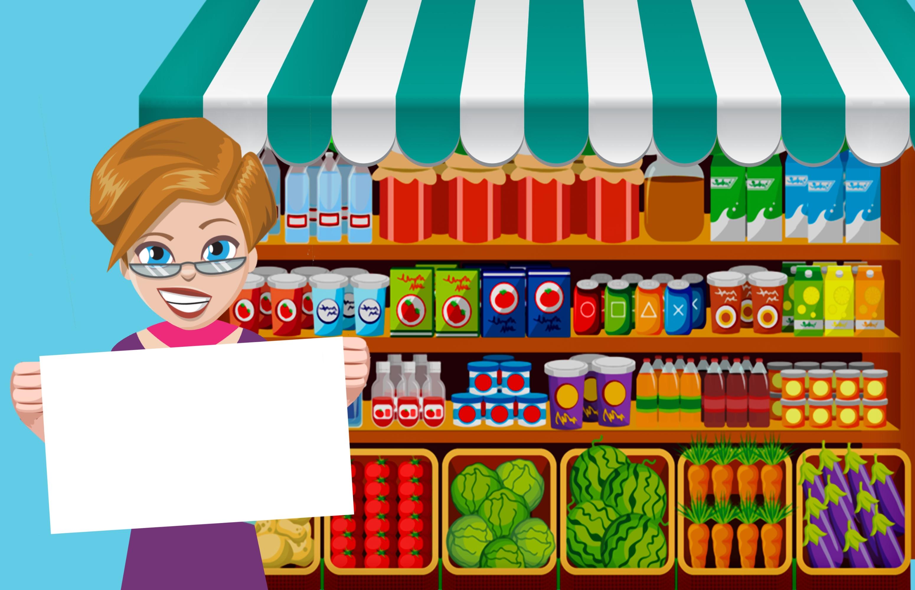 W Mega Darmowe Zdjęcia : supermarket, sklep spożywczy, kobieta, sprzedaż FS56