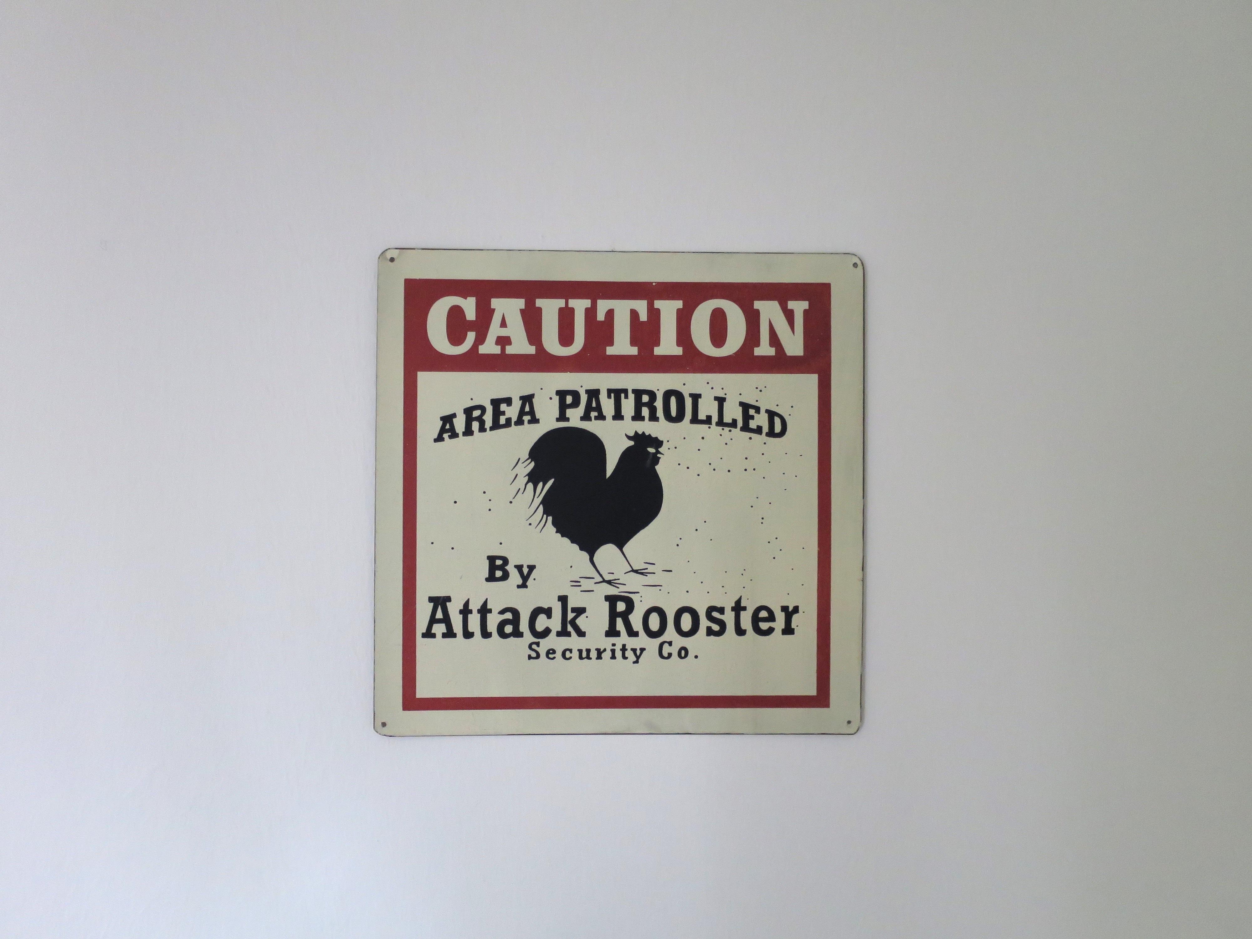 Gambar Label Merek Logo Peringatan Serangan Ayam Waspadalah Tanda