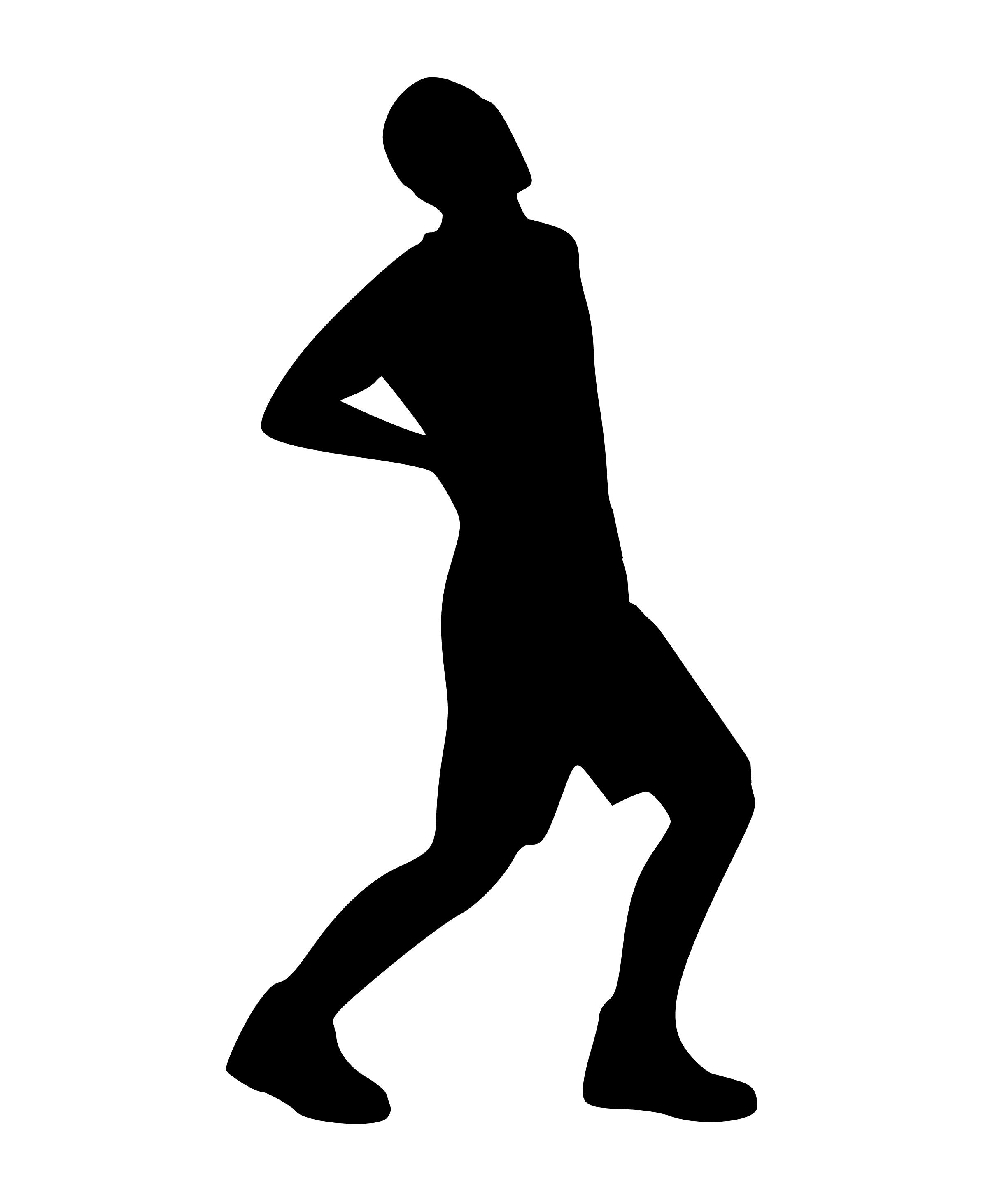Kostenlose Foto Silhouette Rückenschmerzen Mann Schmerzen