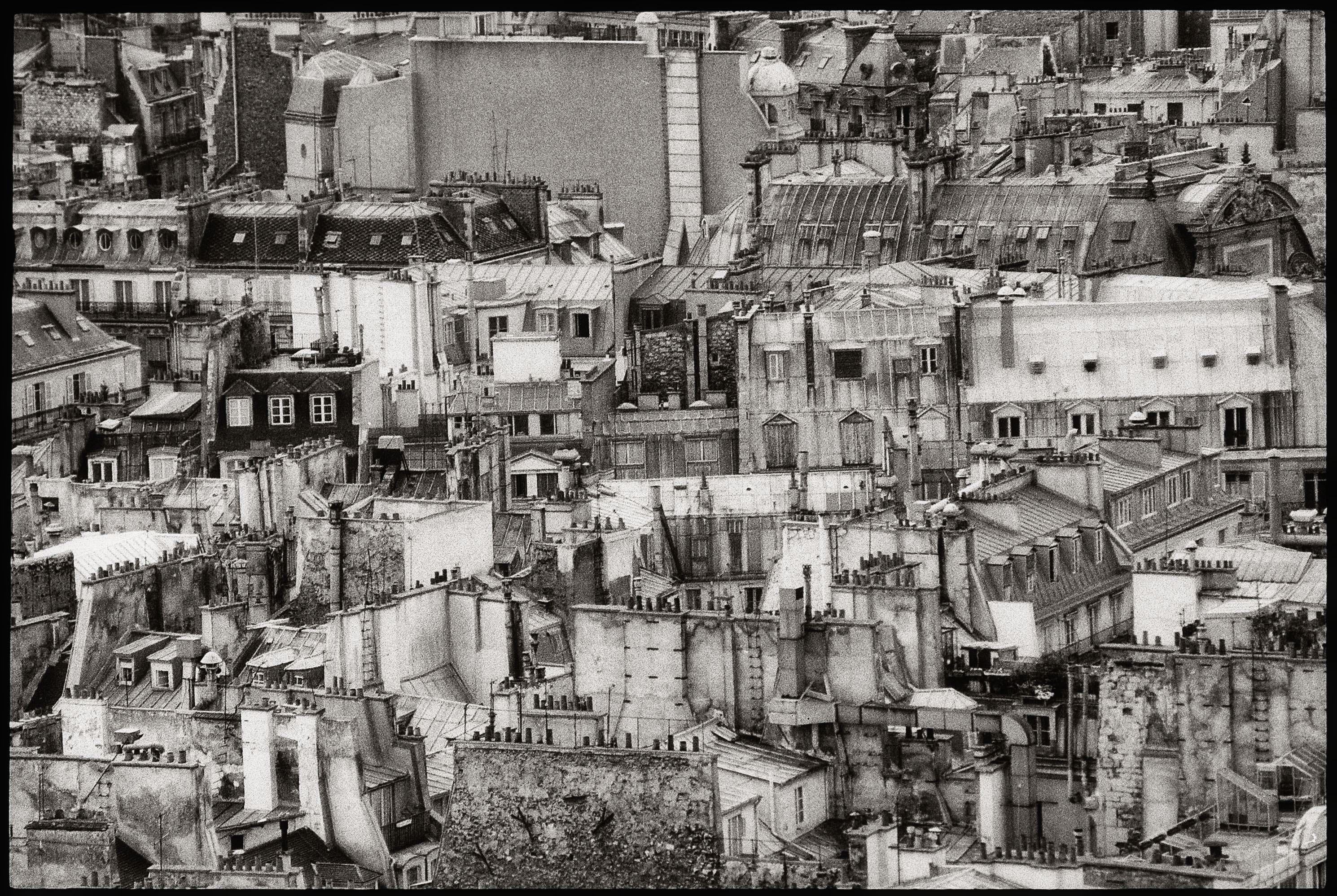 images gratuites   silhouette  noir et blanc  toit  vieux  paris  france  usine  monochrome