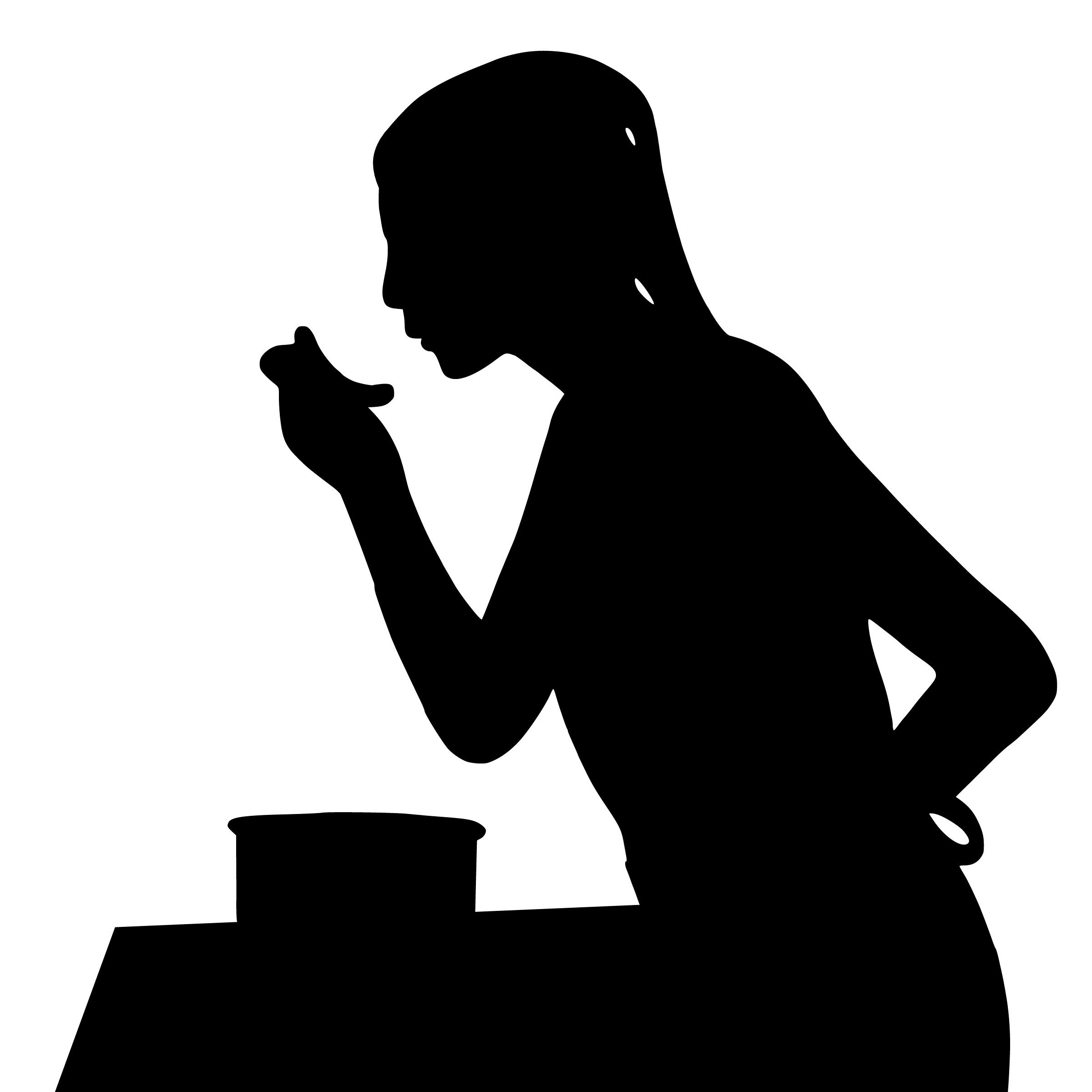 無料画像 : シルエット, 料理, 女性, 試食, フード, キッチン, 主婦