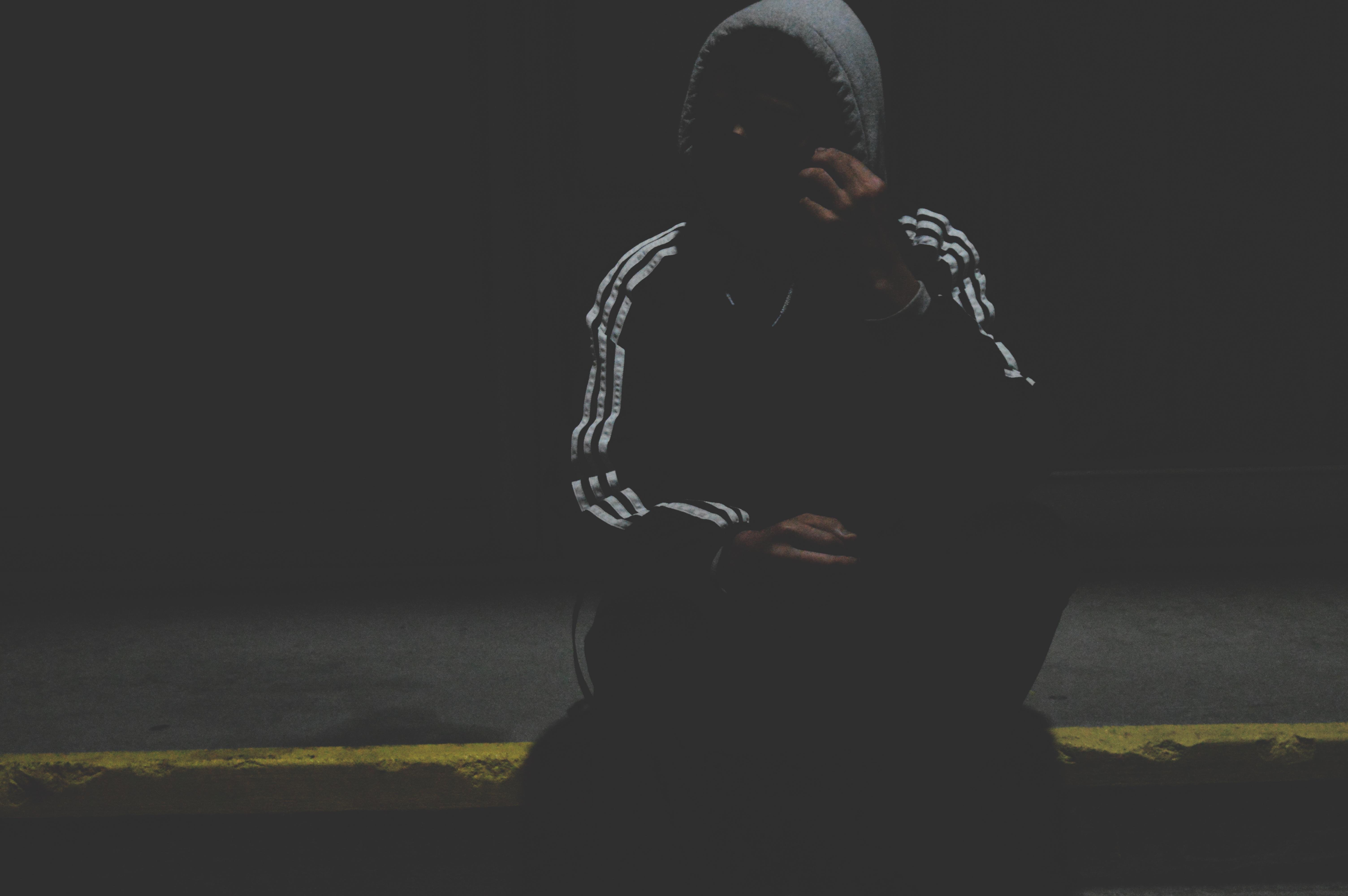 Hình bóng bóng tối hình minh họa Ảnh chụp màn hình bìa album Hình nền máy