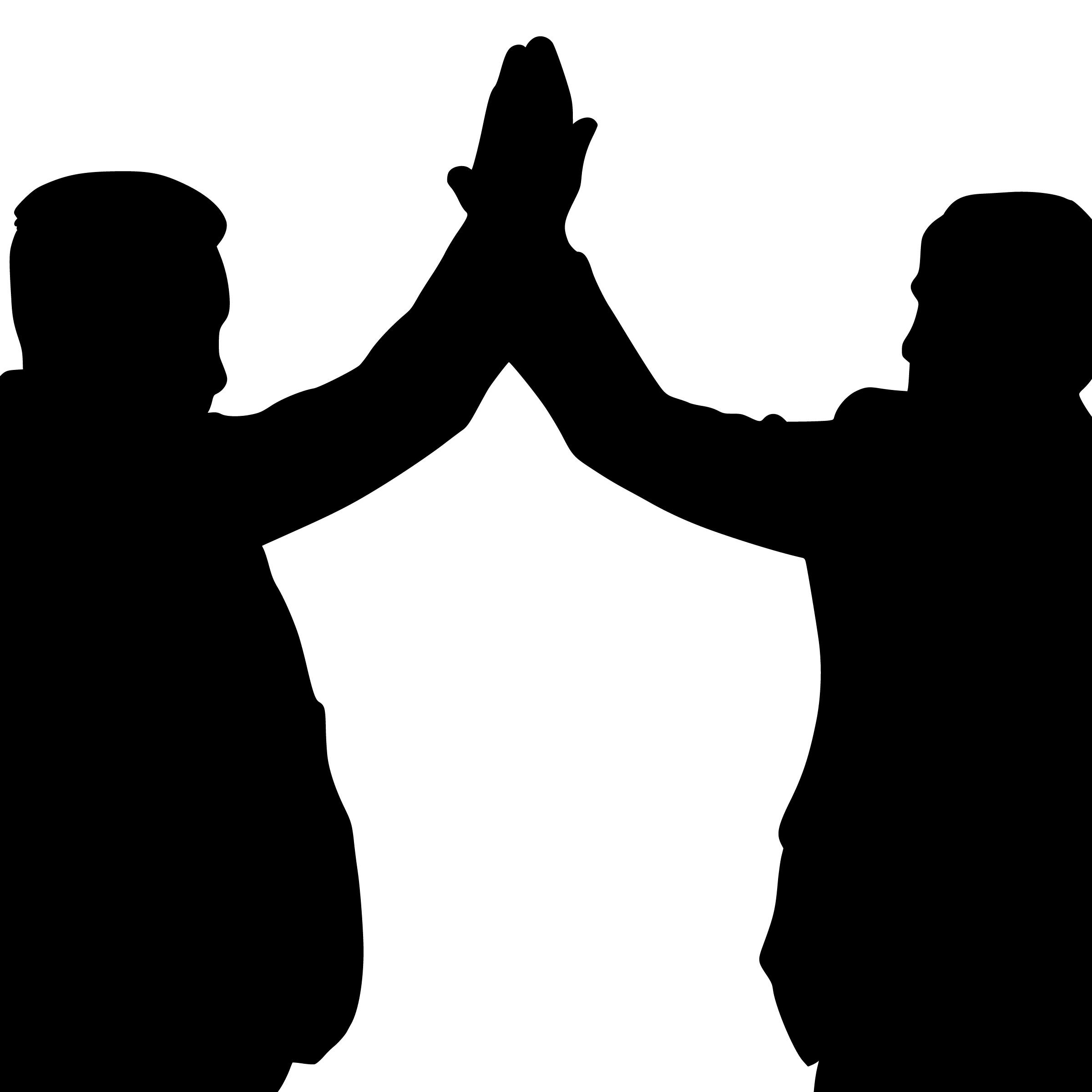 free images   silhouette  five  high  clap  fist  hand  hello  men  partner  dude  arm  friend