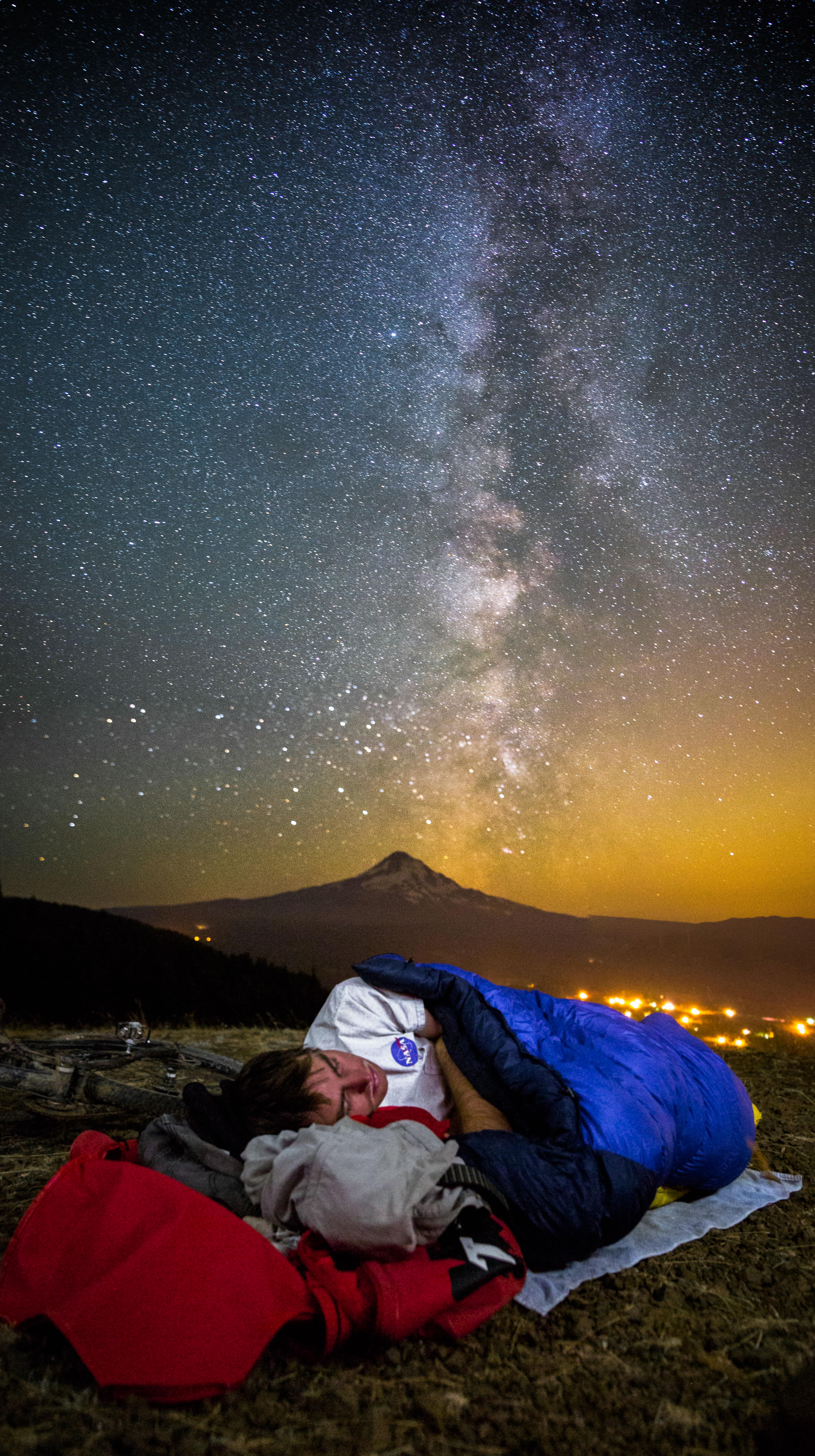 Free Images : Silhouette, Mountain, Light, Sky, Night