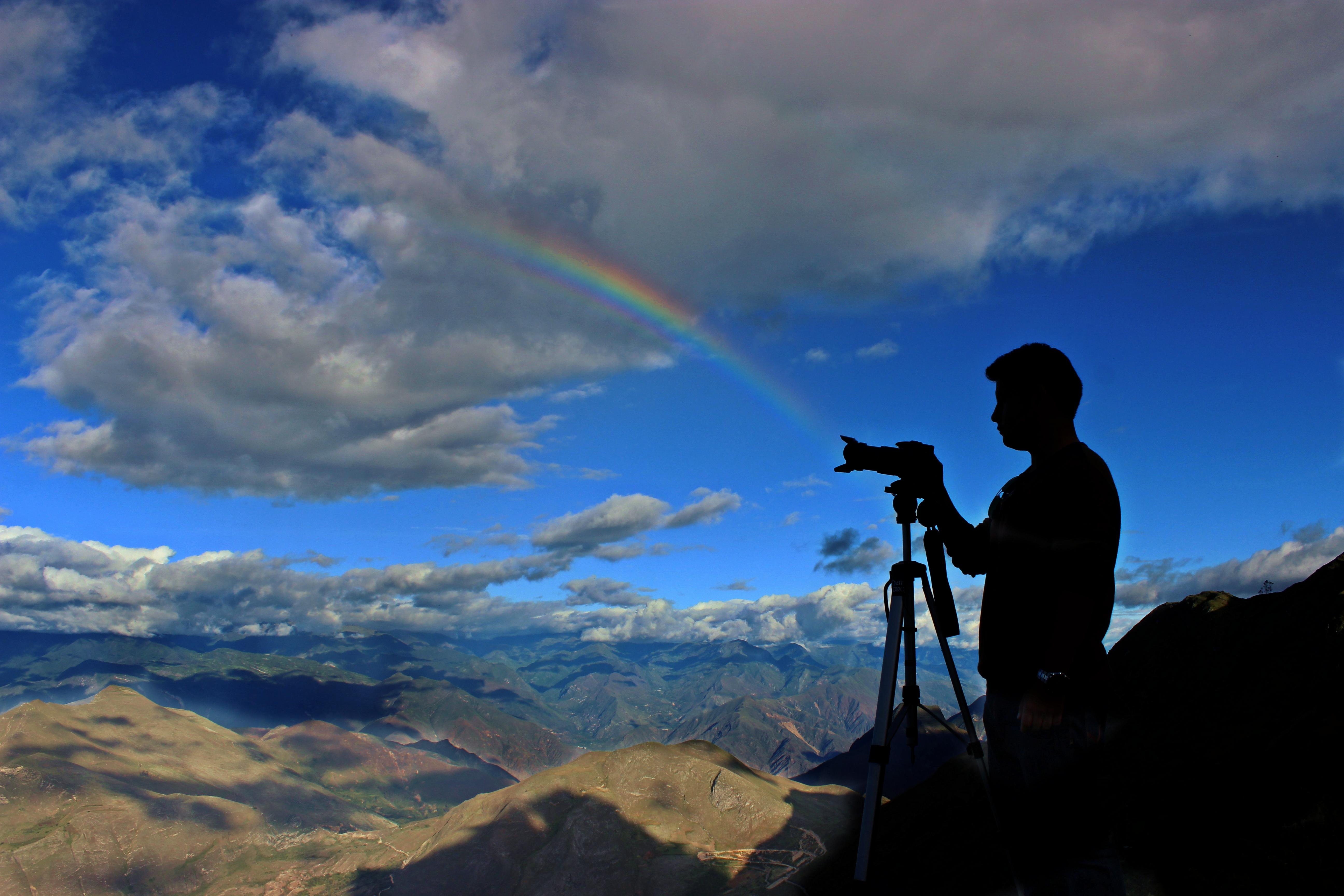Как фотографировать людей в горах
