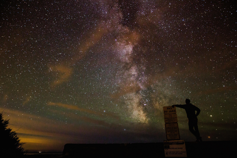 無料画像 : シルエット, 人, 星, 天の川, 雰囲気, ダーク, 宇宙空間, 天文学, 真夜中, 天体, 渦巻銀河 5760x3840