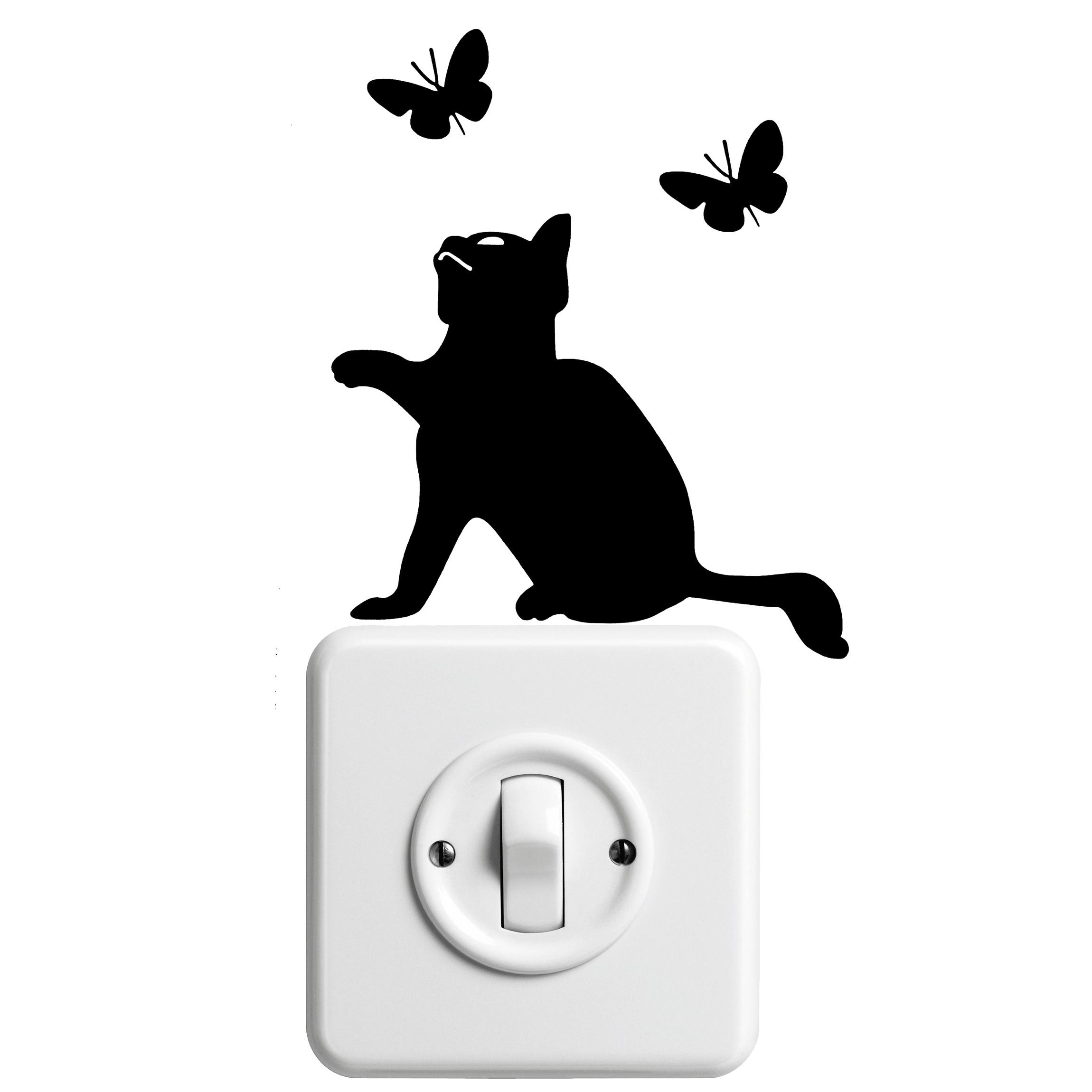 Silhouette chat dessin galerie tatouage - Tatouage silhouette chat ...