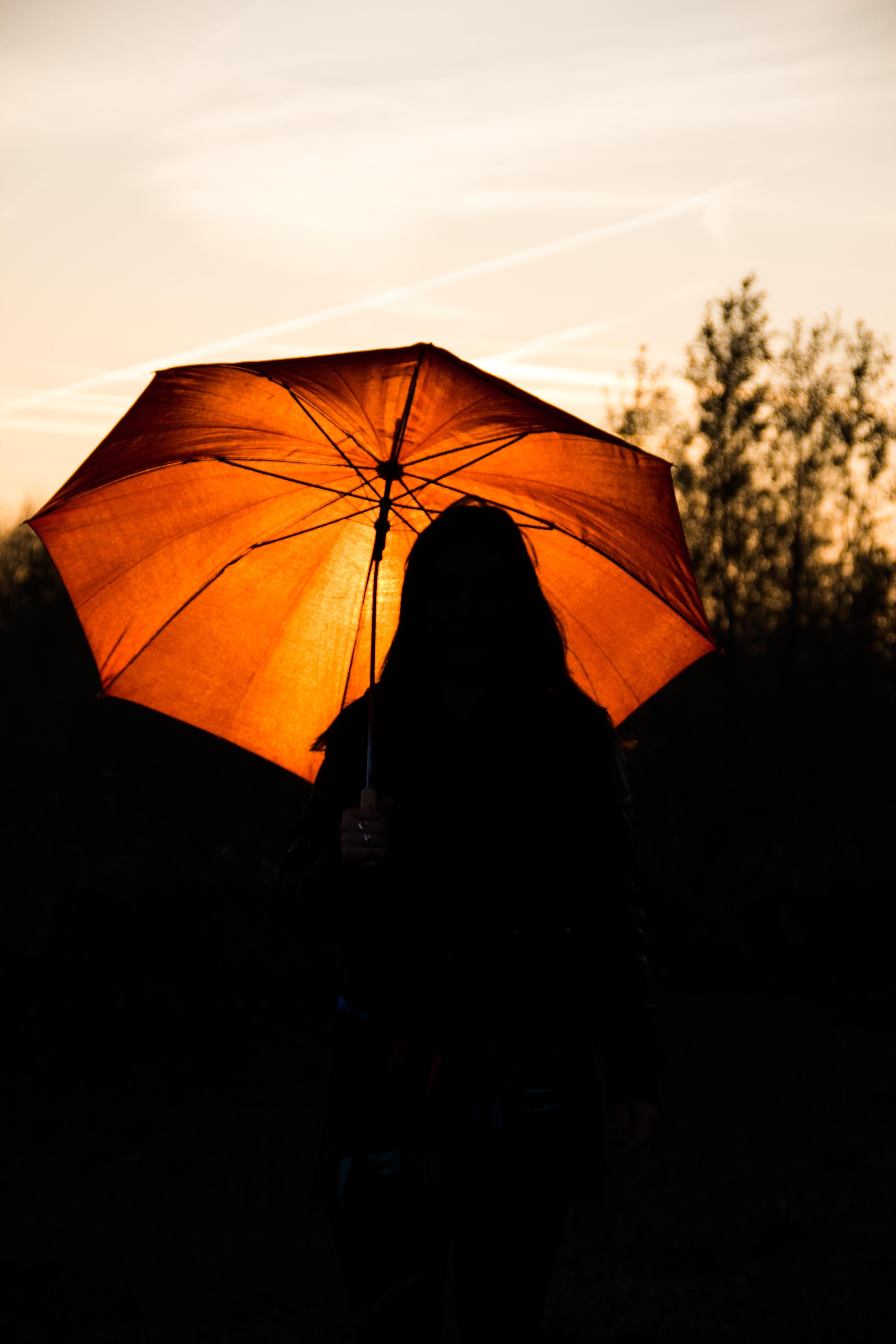b5debee23 silhouette sky sun sunset sunlight leaf orange red umbrella color autumn  yellow sunny setting sun colorful