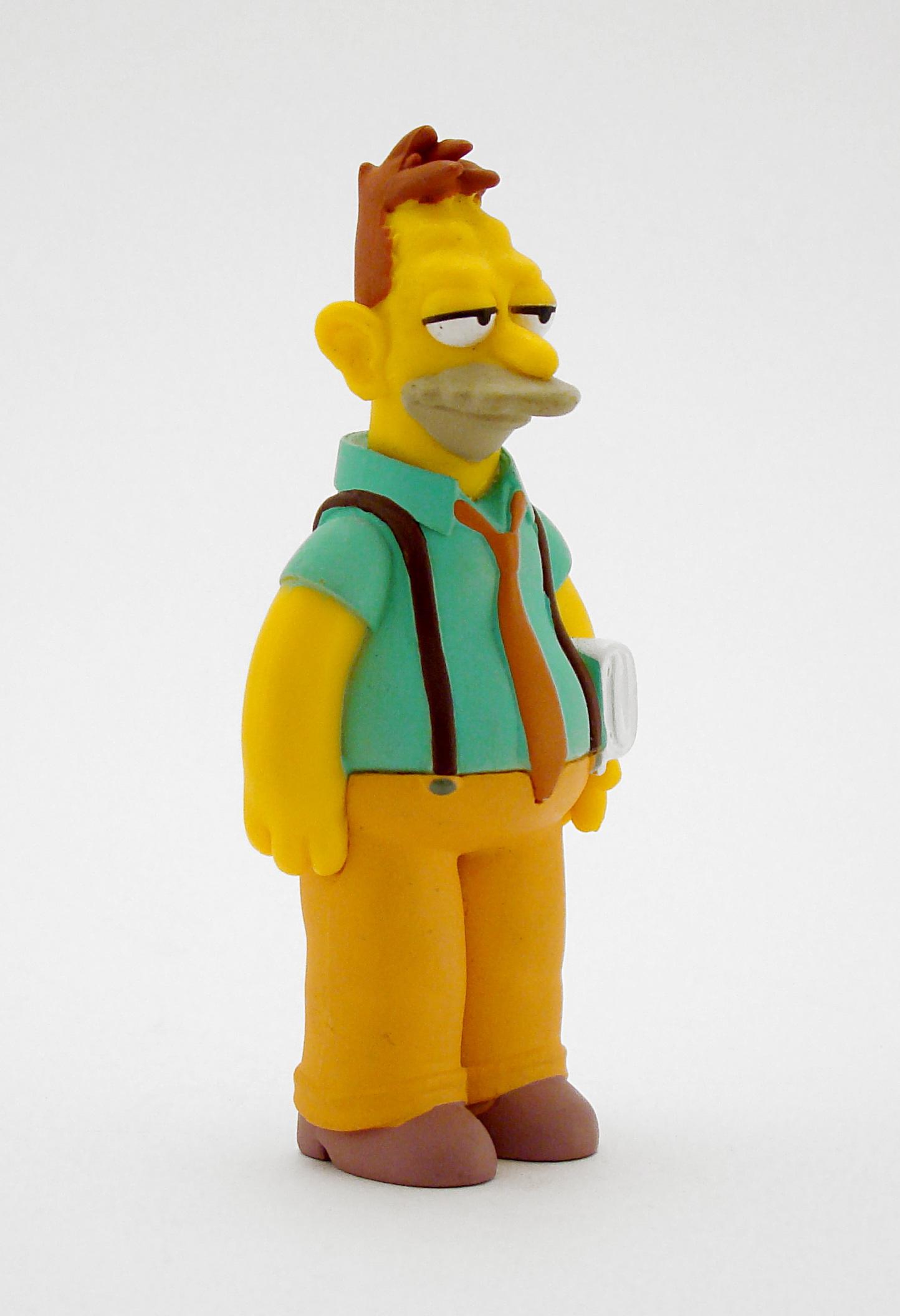 Gambar Simpsons Karakter Mainan Orang Orangan Salju Gambar