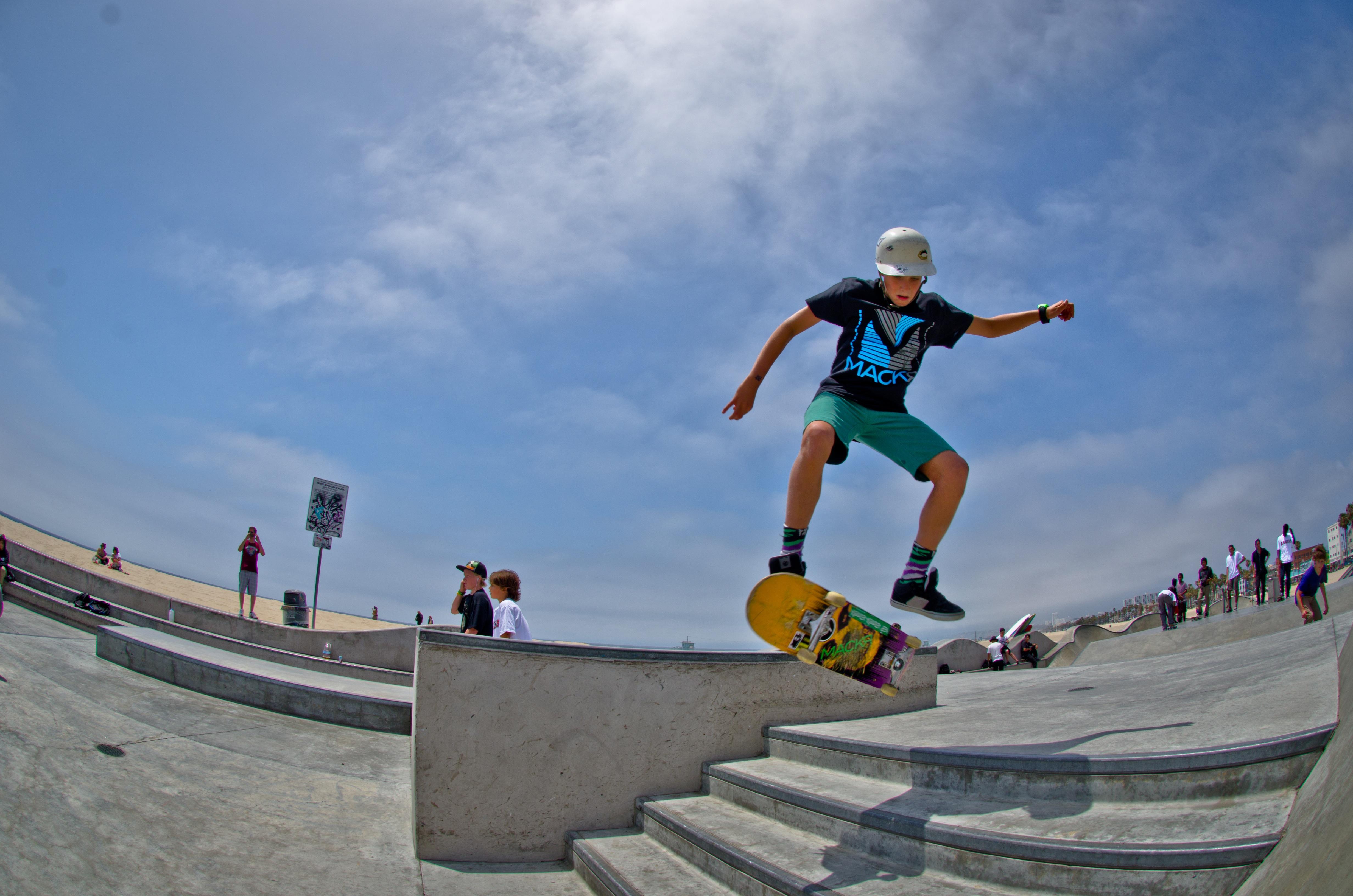 free images skateboard boy jump extreme sport skate park