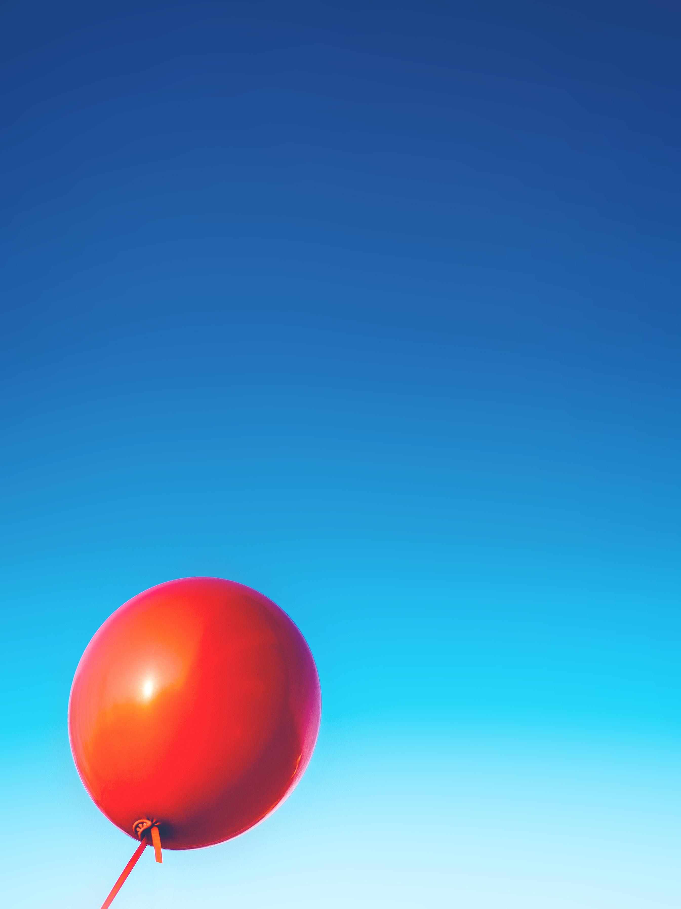 Gambar Langit Udara Bulat Balon Suasana Terbang