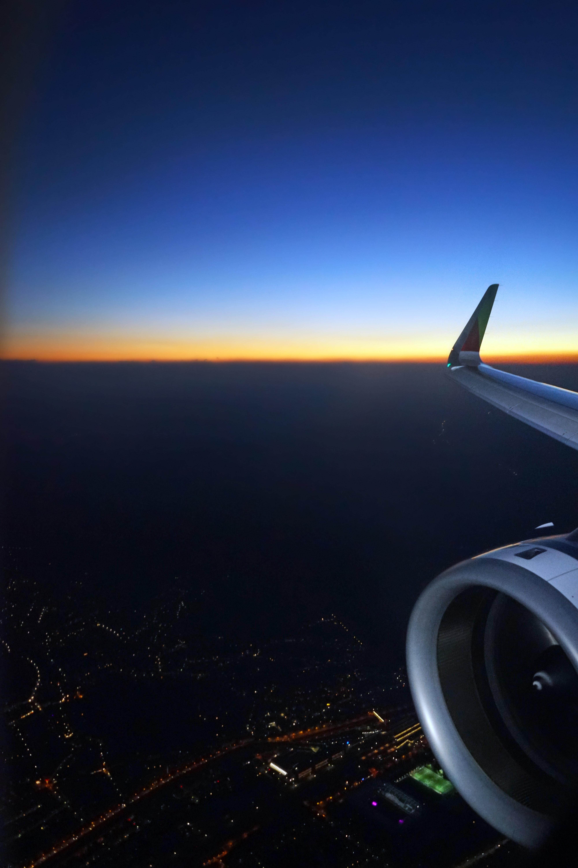 Обои Облака, красиво, ночь, высота. Авиация foto 18