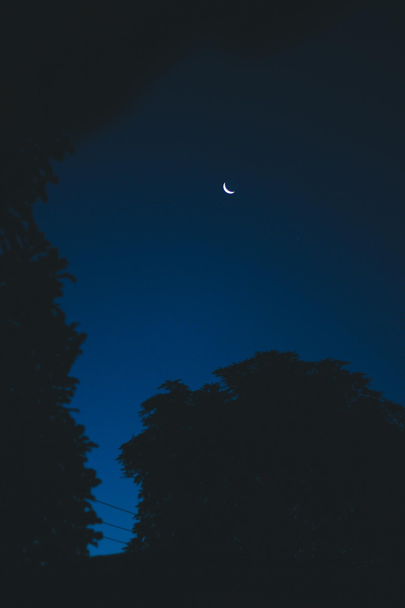Gambar : langit, suasana, siang hari, objek astronomi, sabit