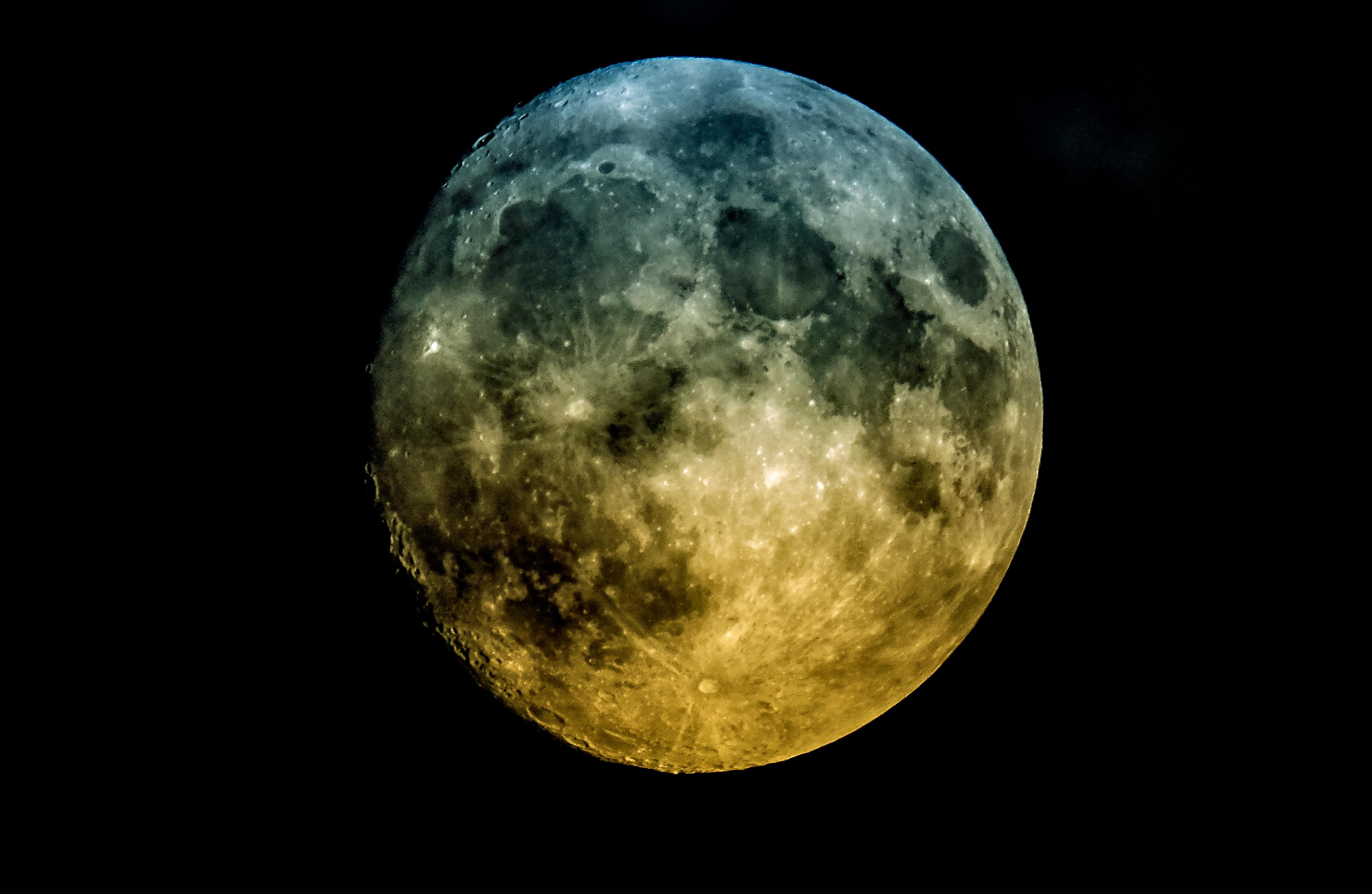 Bien-aimé Images Gratuites : atmosphère, ciel de nuit, pleine lune, cercle  JV01