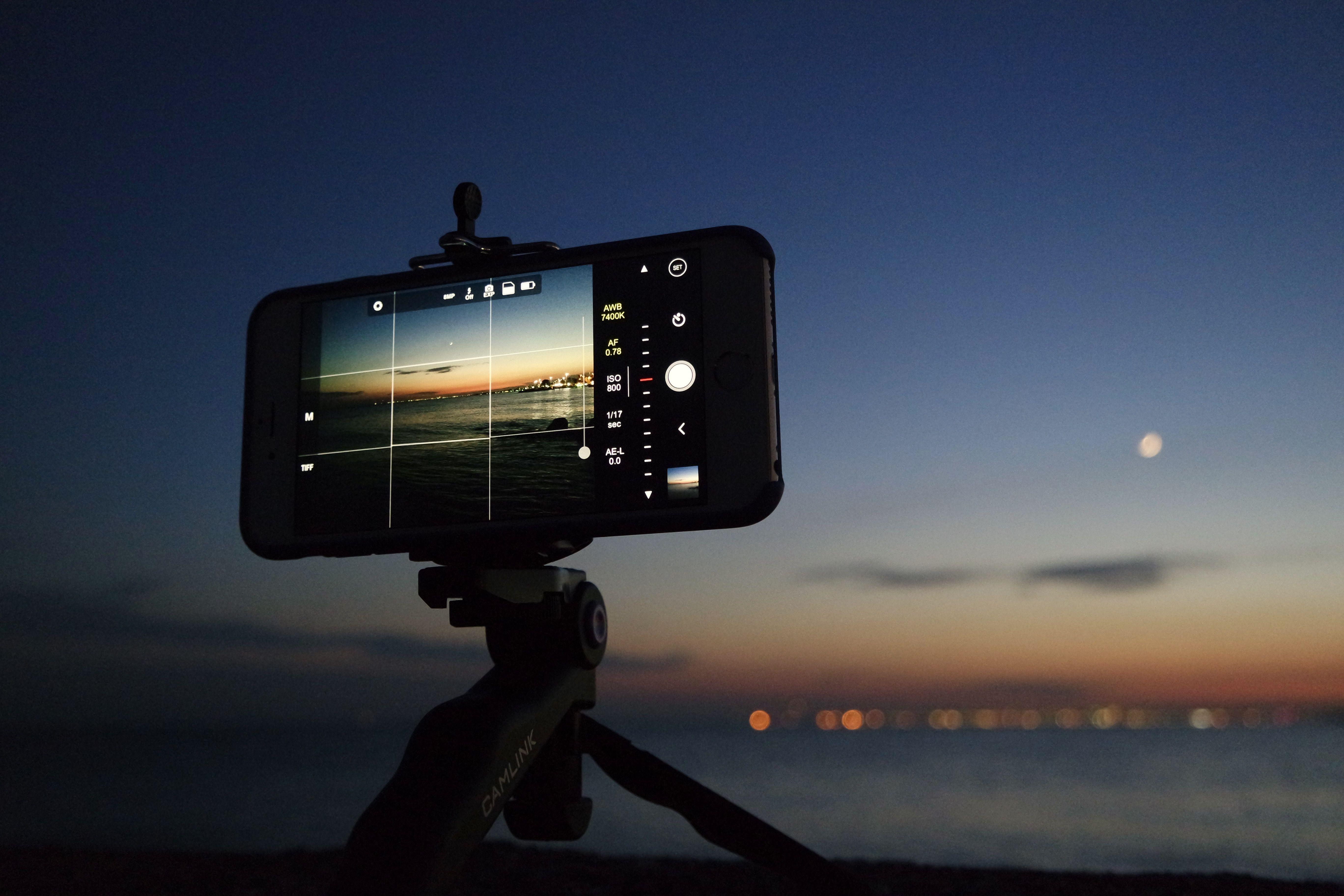 приложения для фото ночью этом, основной версией
