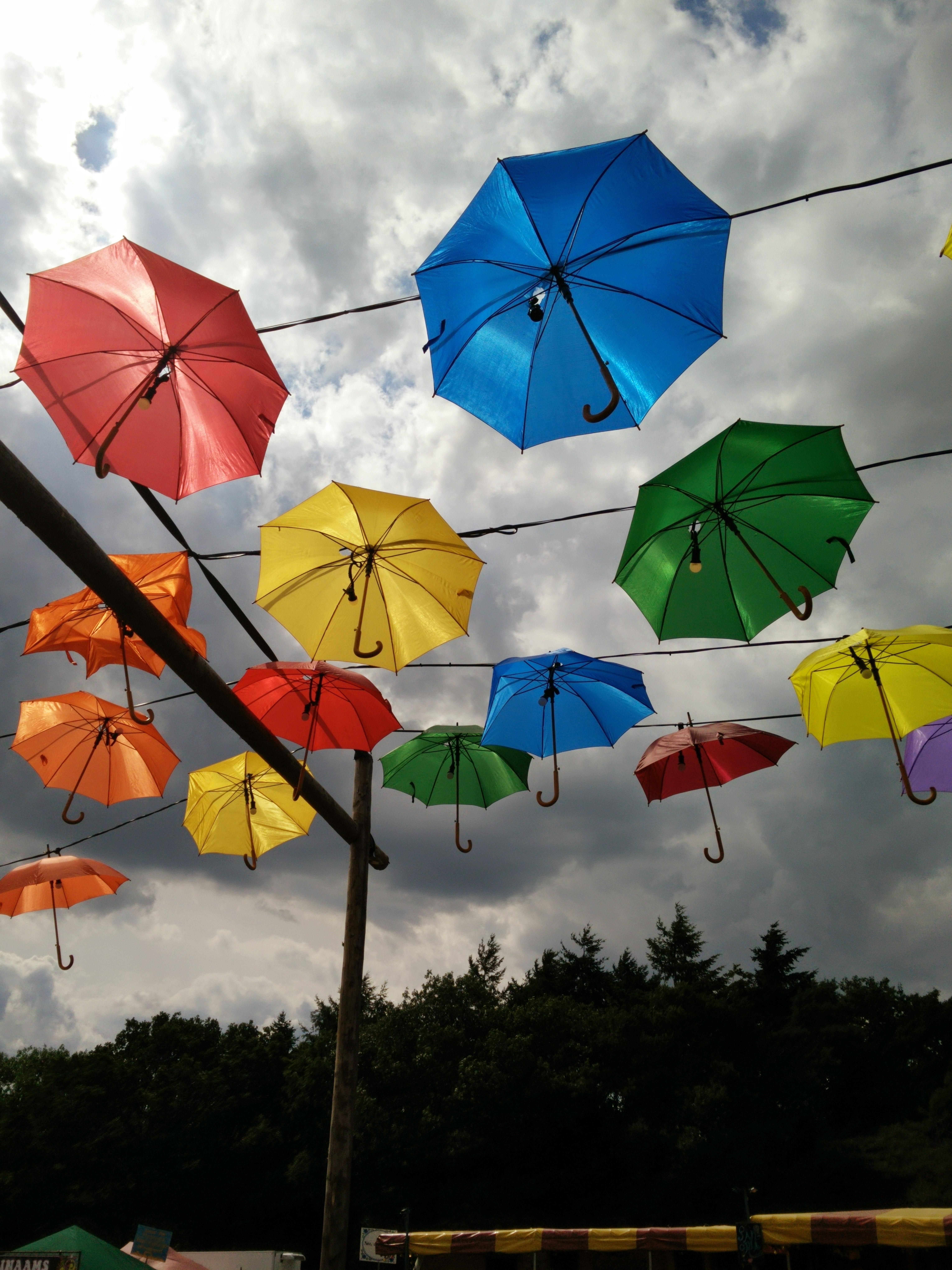 Красивые зонтики картинки