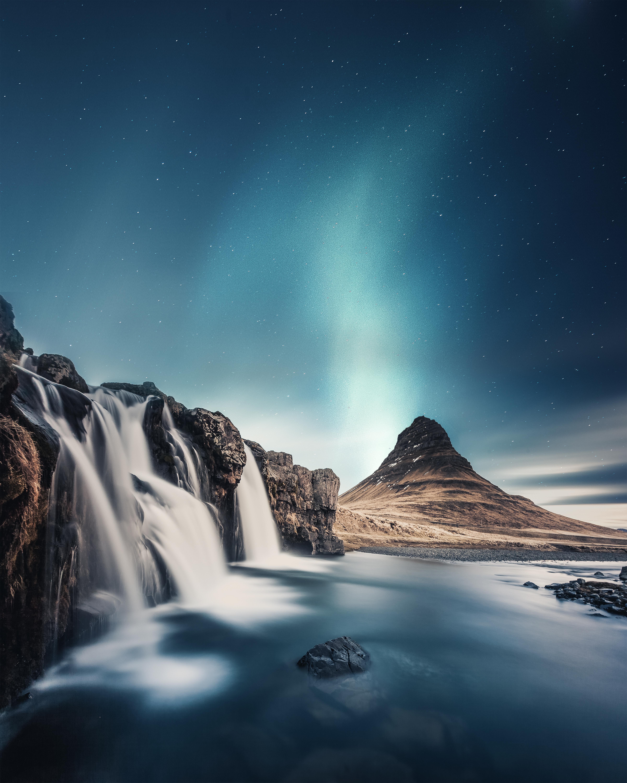 無料画像 自然 雰囲気 凍結 現象 オーロラ 宇宙空間 水の特徴 滝 コンピュータの壁紙 北極 風景 冬 雪 山 水路 地球 真夜中 4800x6000 無料写真 Pxhere