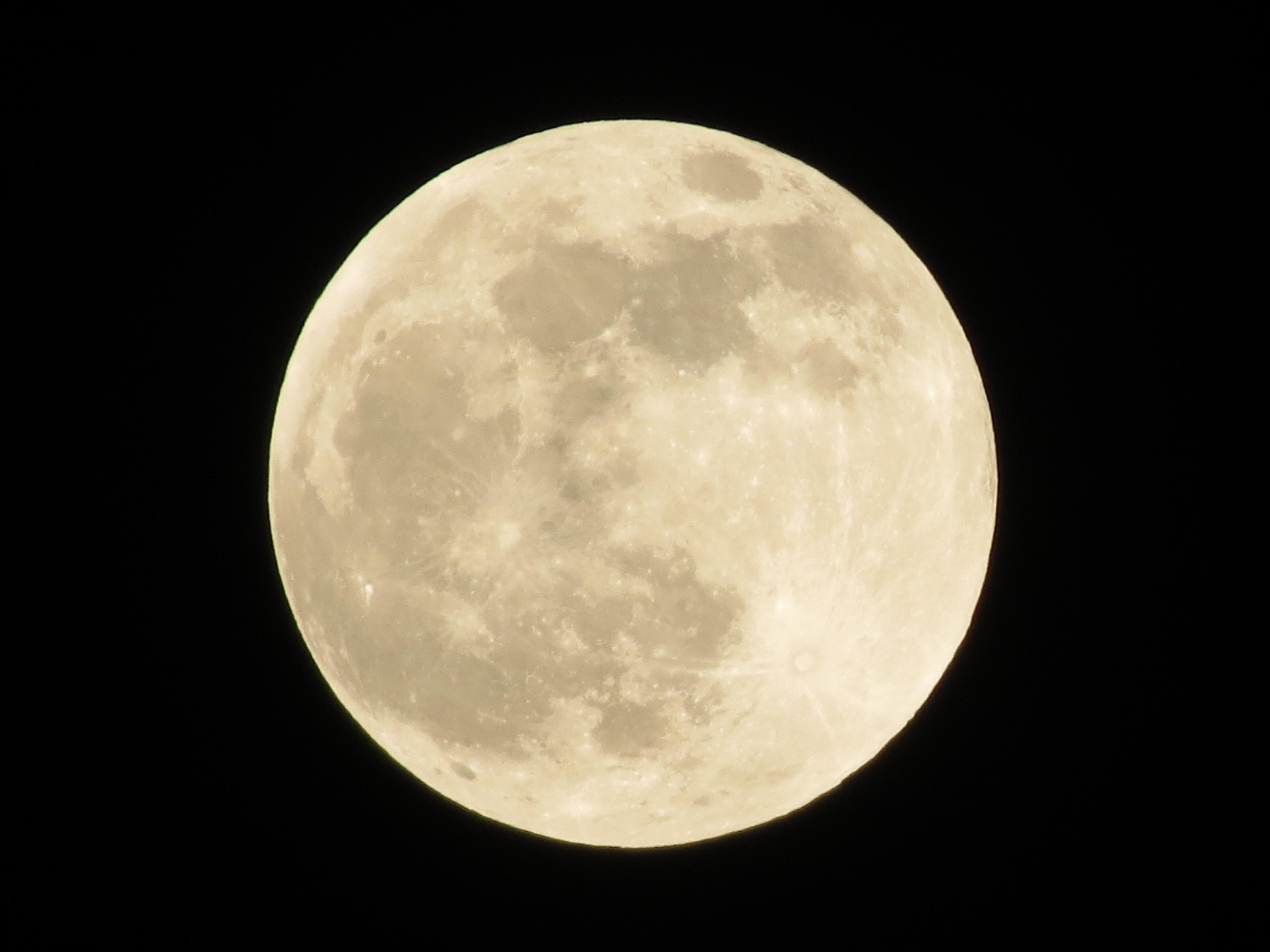 Exceptionnel Images Gratuites : ciel, nuit, atmosphère, pleine lune, clair de  RQ63