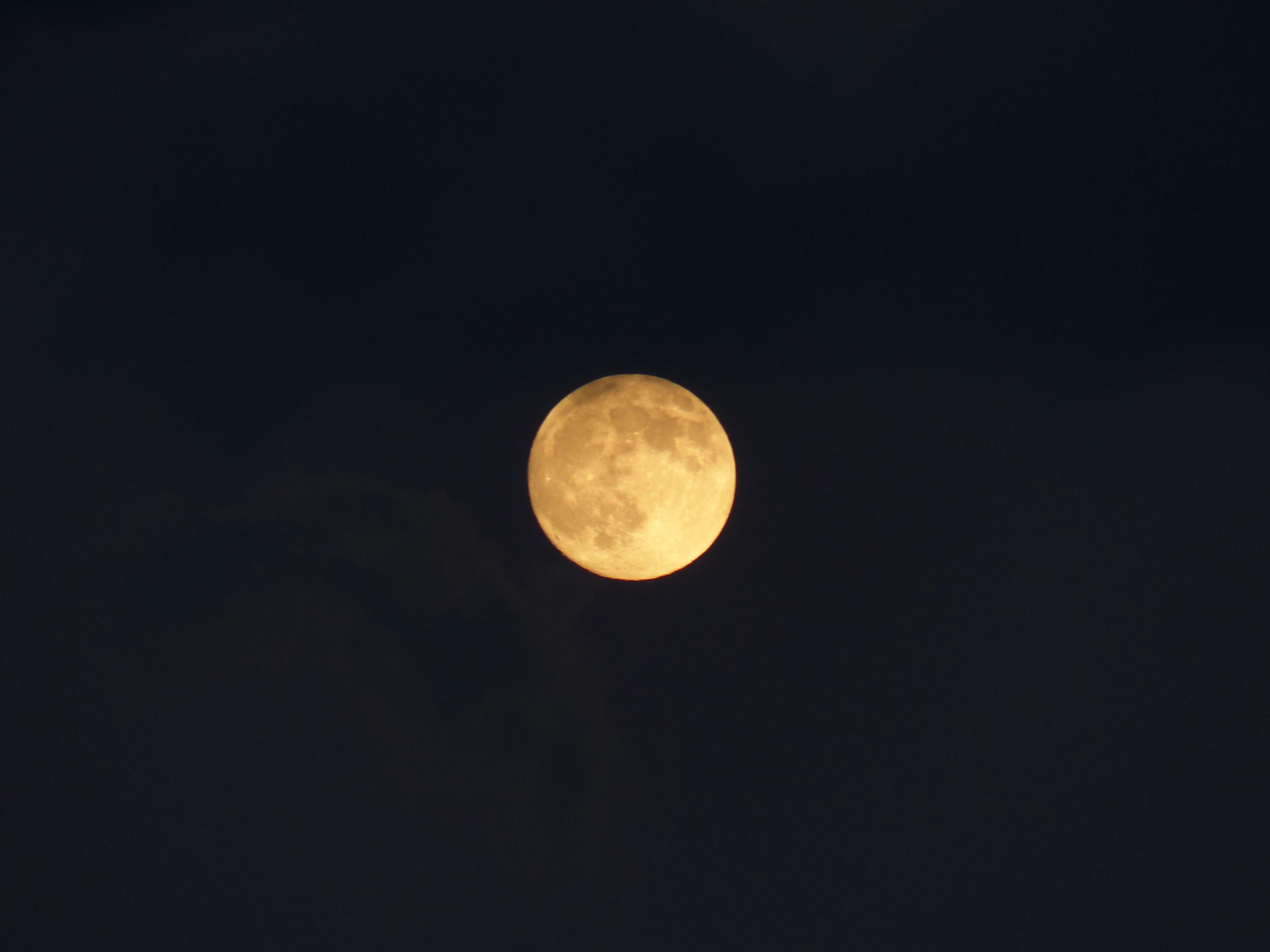 Exceptionnel Images Gratuites : ciel, nuit, atmosphère, mystique, pleine lune  RQ63