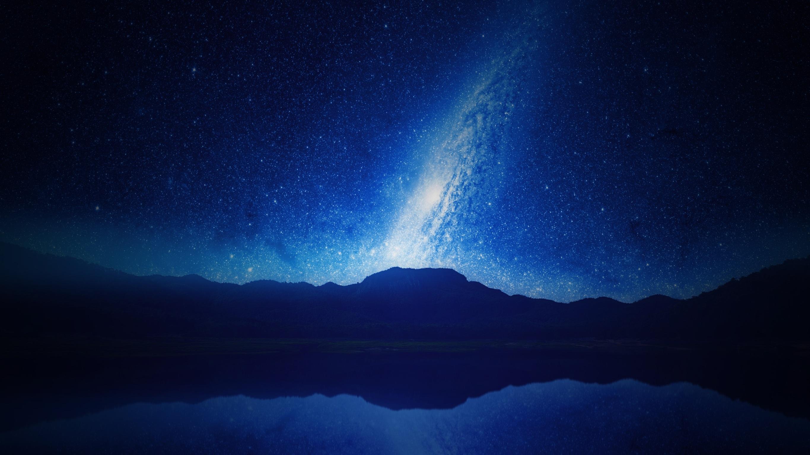 Free Images : sky, night, atmosphere, blue, aurora ...