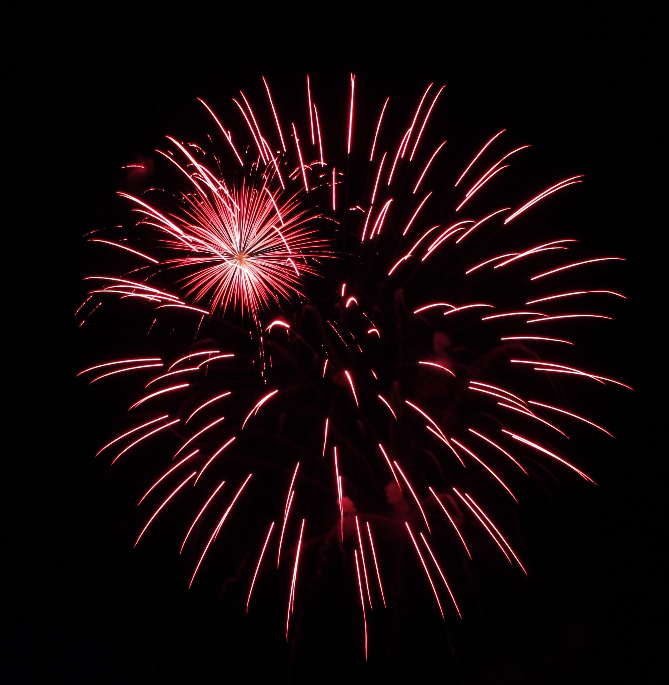 Gambar : langit, rekreasi, kegelapan, tahun Baru, kembang api