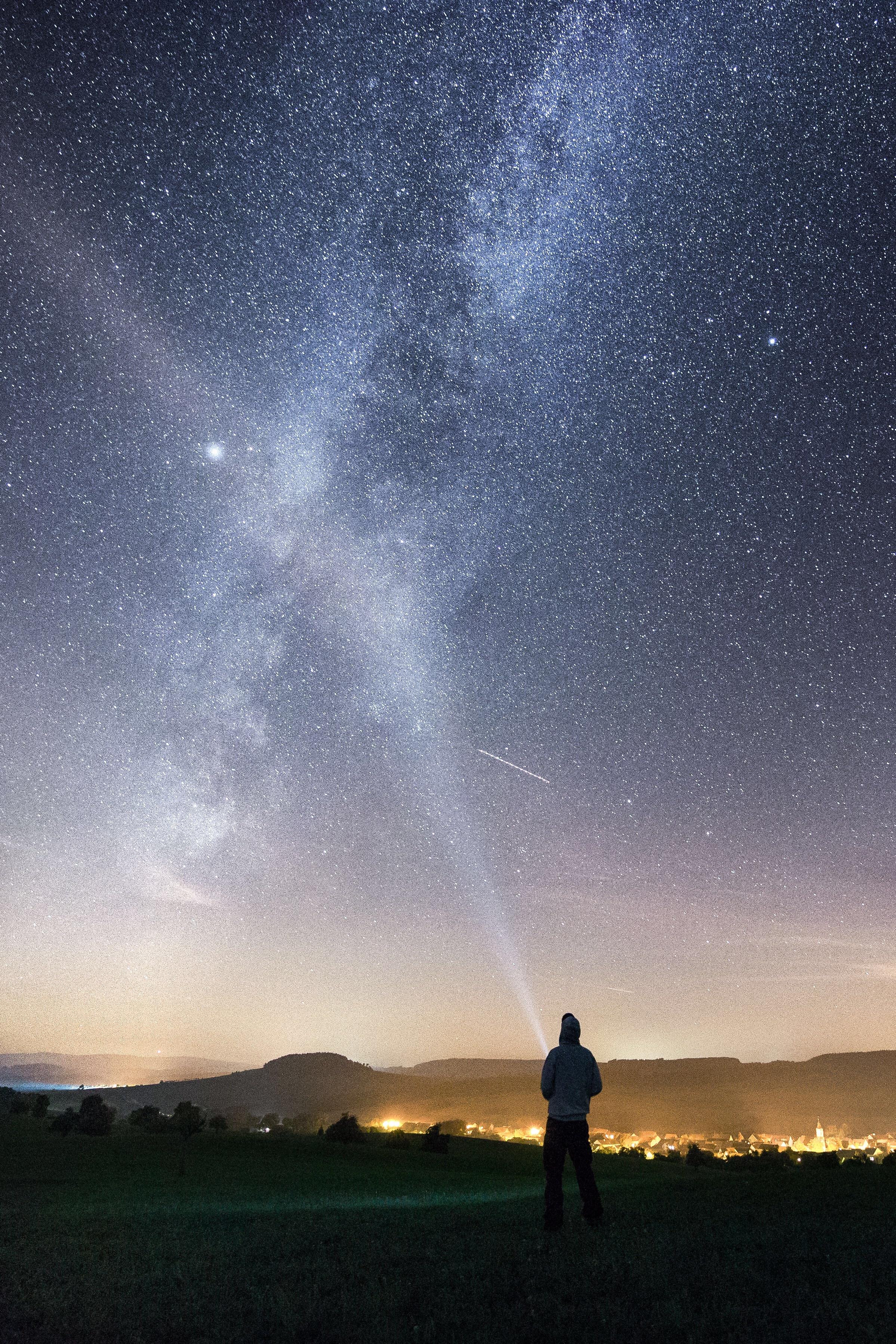 Free Images : sky, night, star, milky way, atmosphere