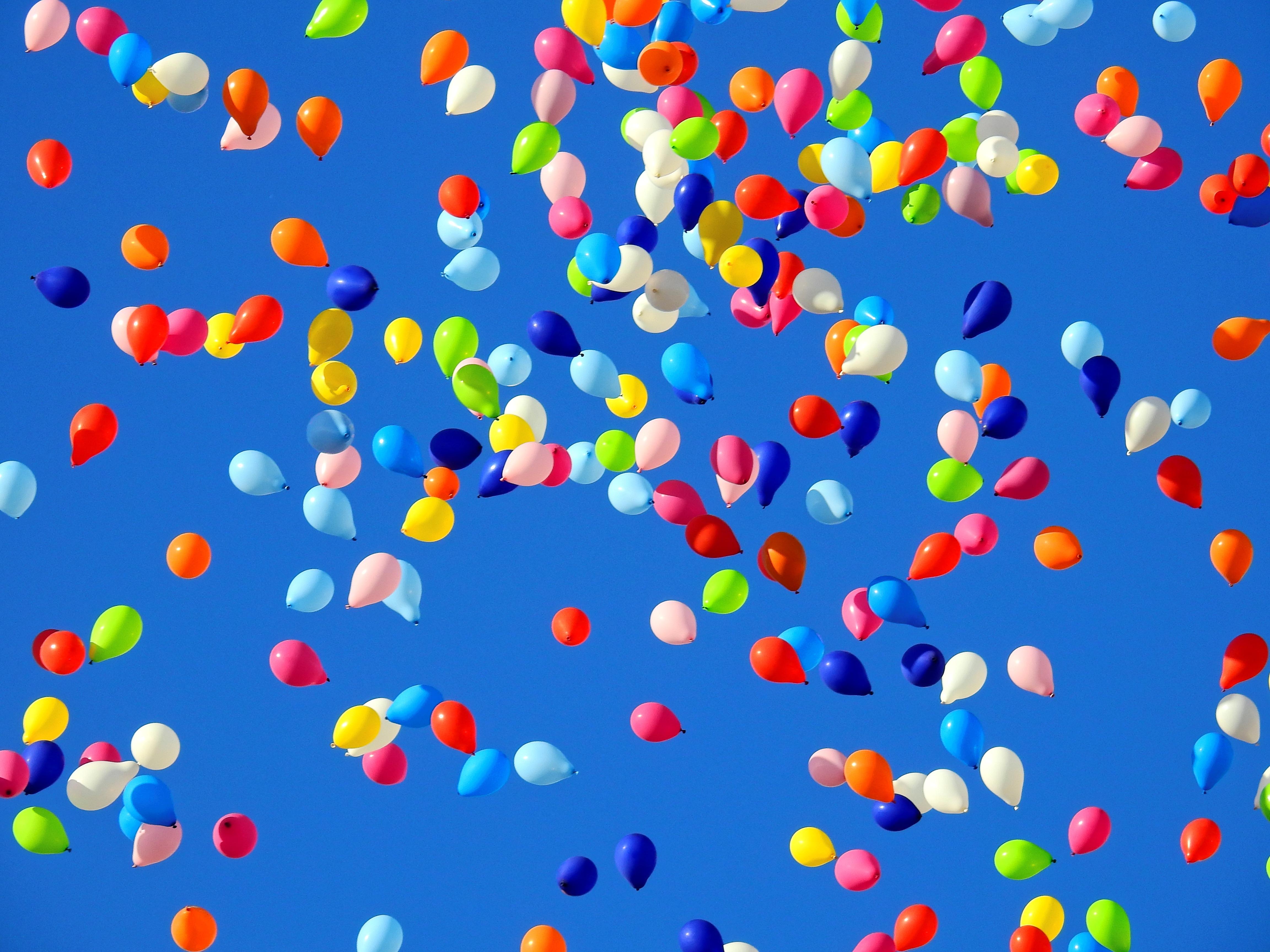 free images   sky  petal  balloon  celebration  pattern