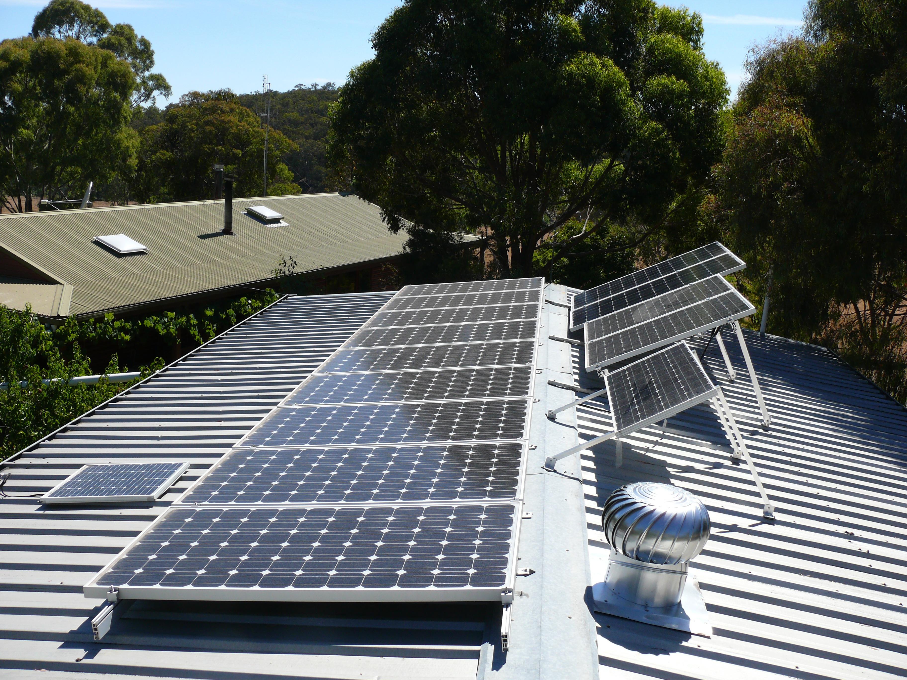 batterie pour panneau solaire