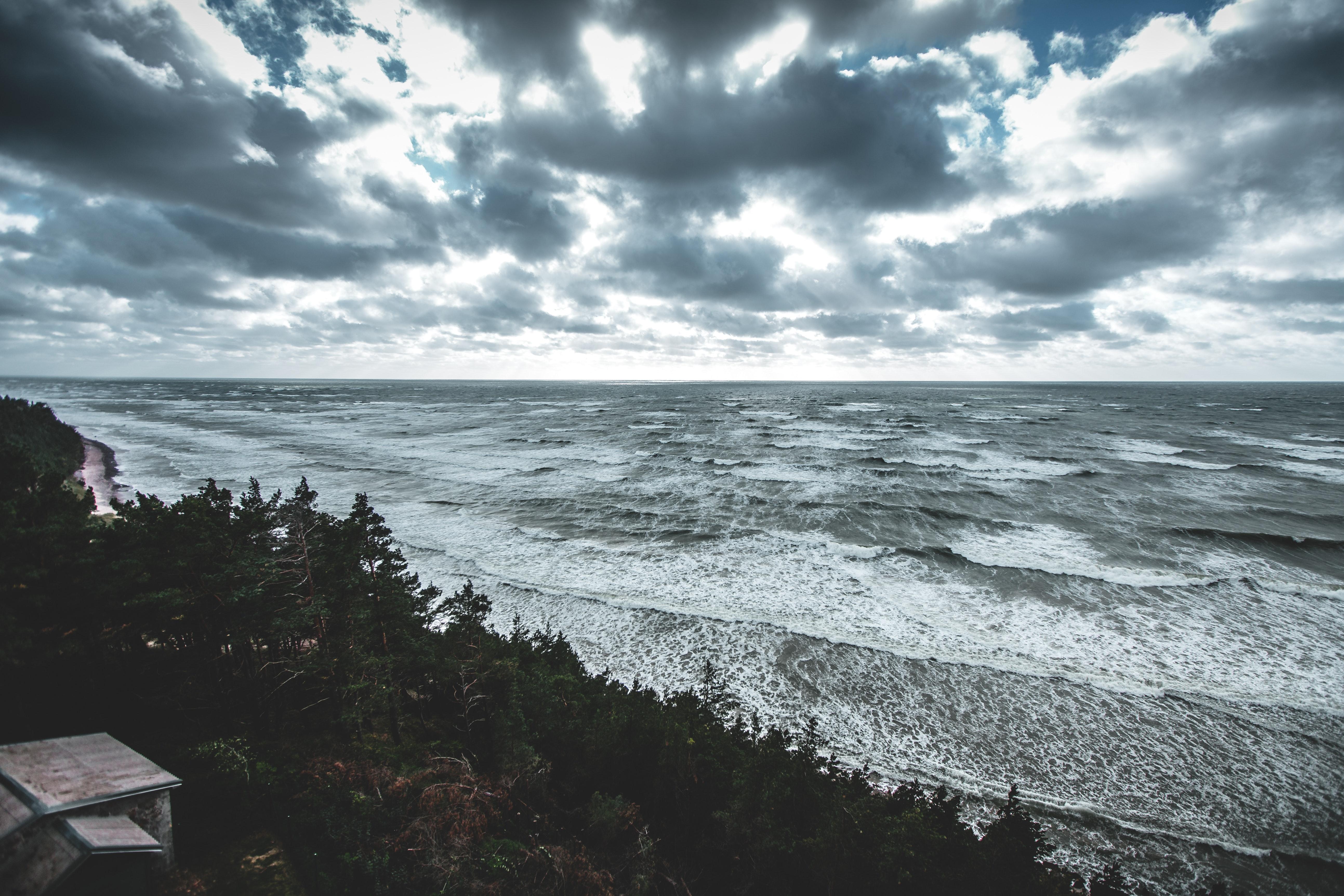 это пасмурное море фото думают