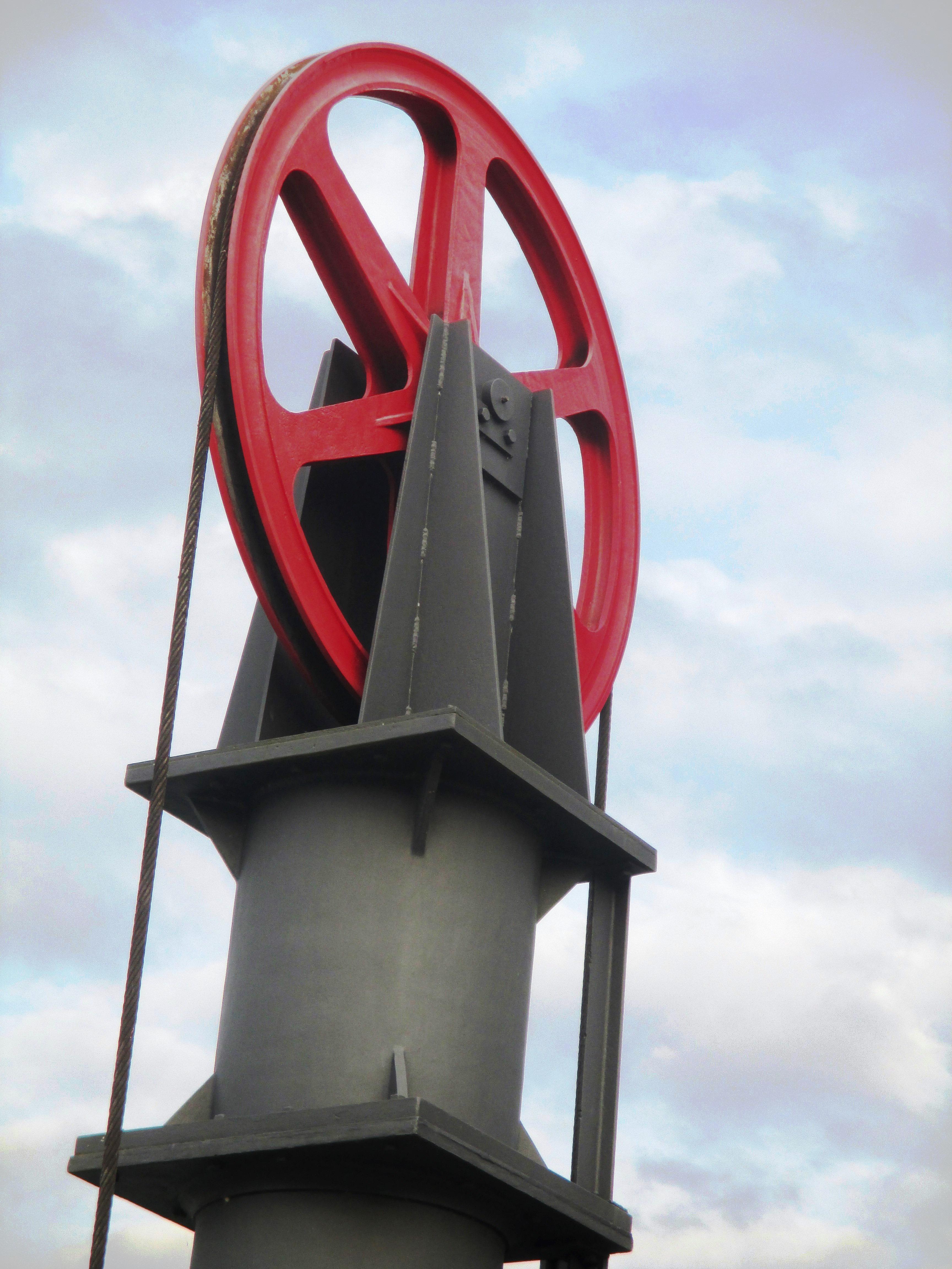 Kostenlose foto : Himmel, Rad, Turm, Maschine, Hafen, Wolken ...