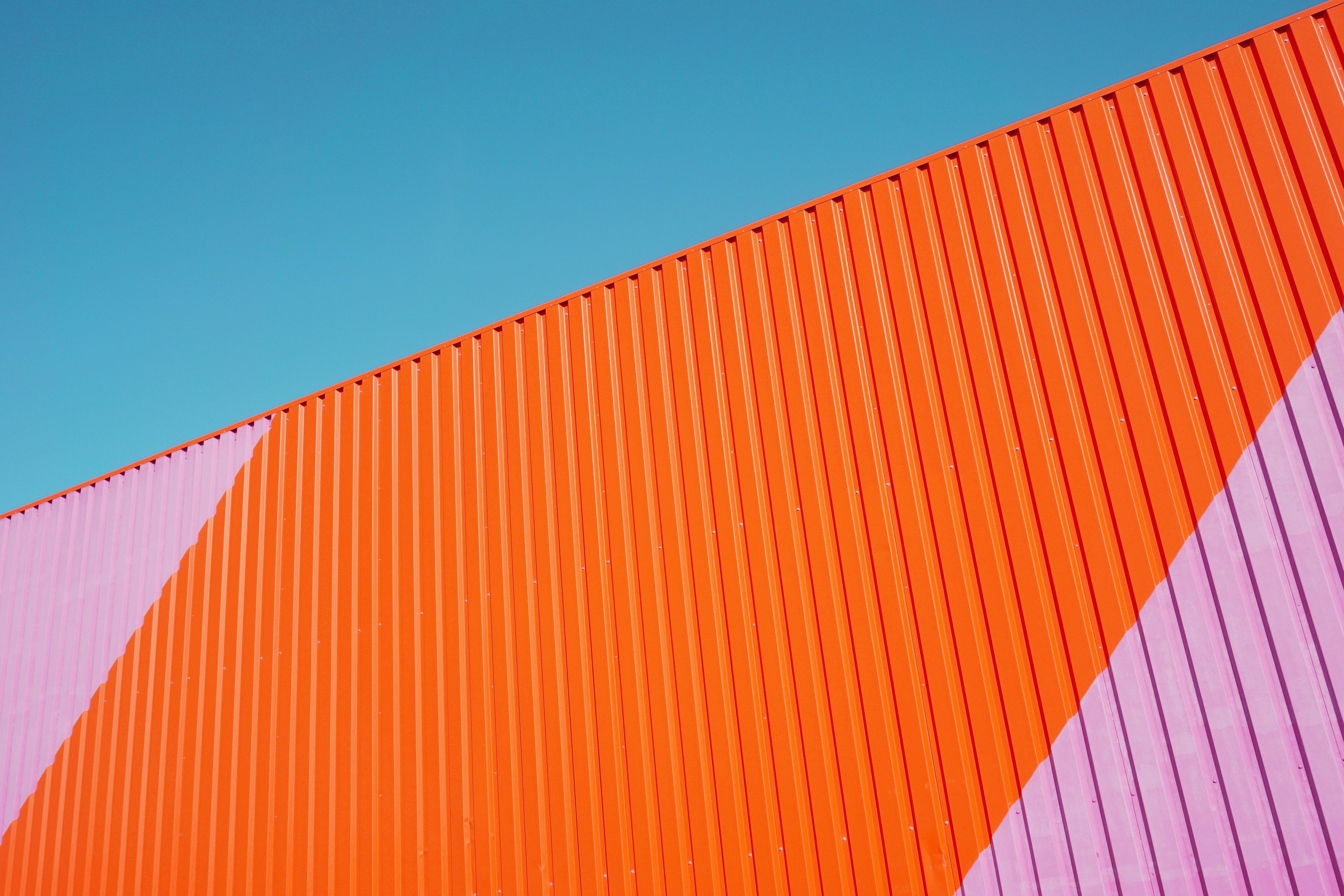 c70d35700 nebe dřevo střecha mrakodrap stěna oranžový čára Červené barva fasáda žlutý  design minimalismus ochranný kryt tvar