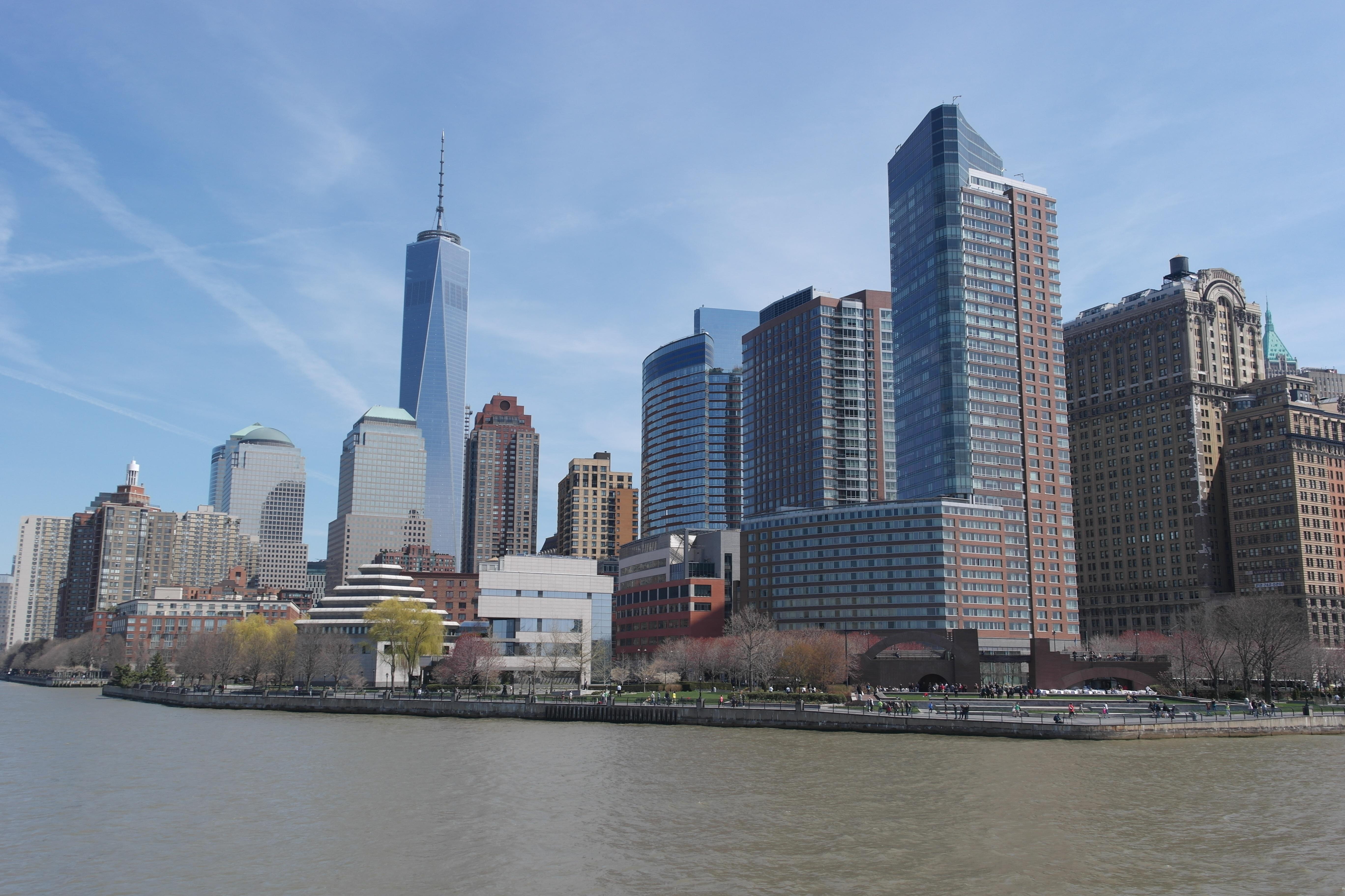 fotos gratis horizonte rascacielos nueva york ro paisaje urbano centro de la ciudad torre baha punto de referencia puerto camino acutico