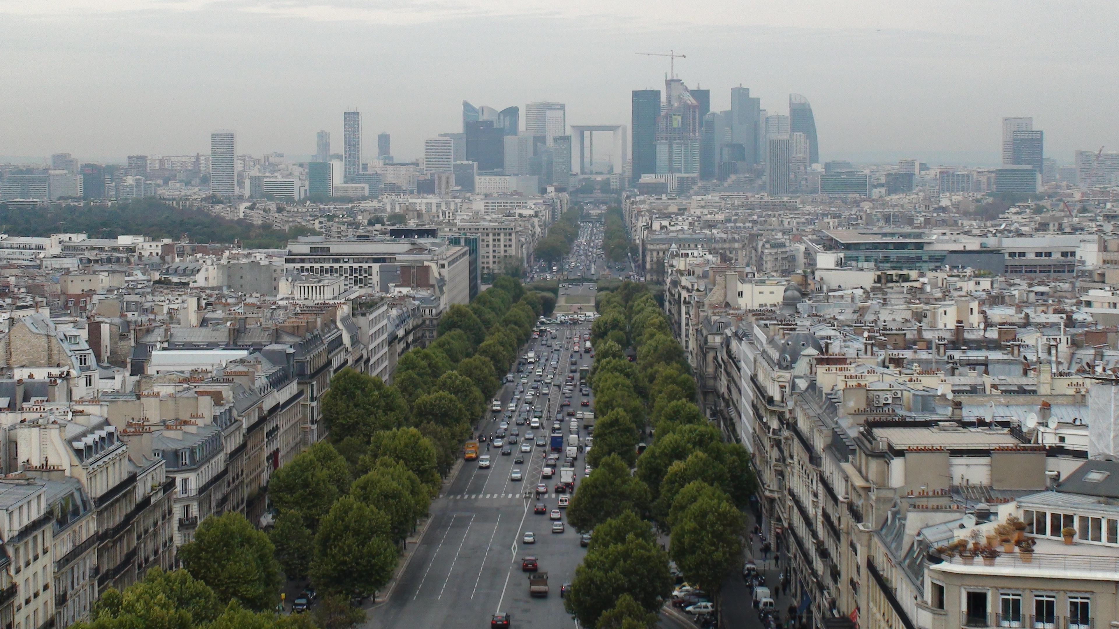 Images gratuites horizon rue paris gratte ciel for Piscine des amiraux paris