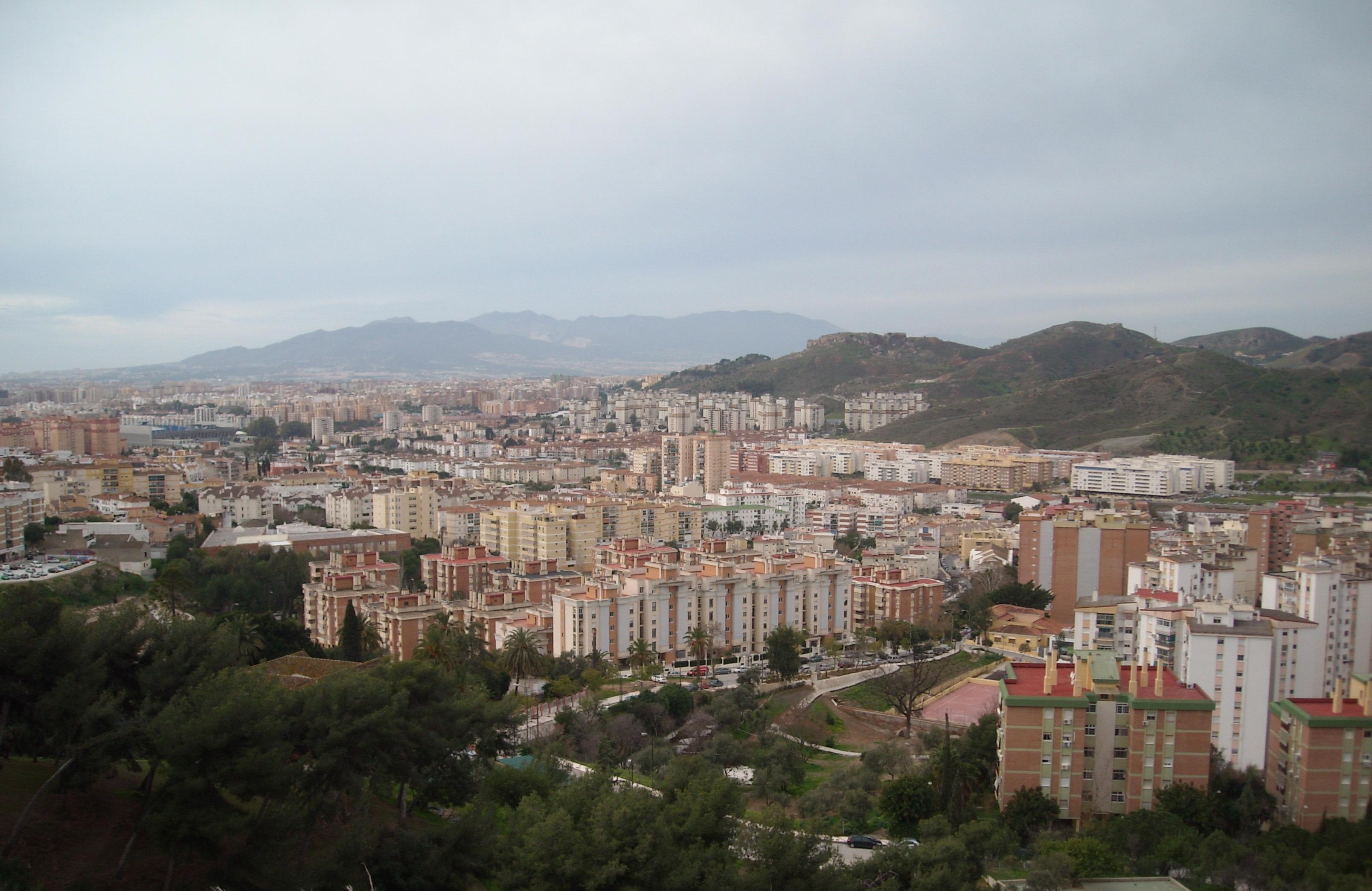 Fotos gratis horizonte pueblo ciudad paisaje urbano panorama espa a hogares andaluc a - Fotografia aerea malaga ...