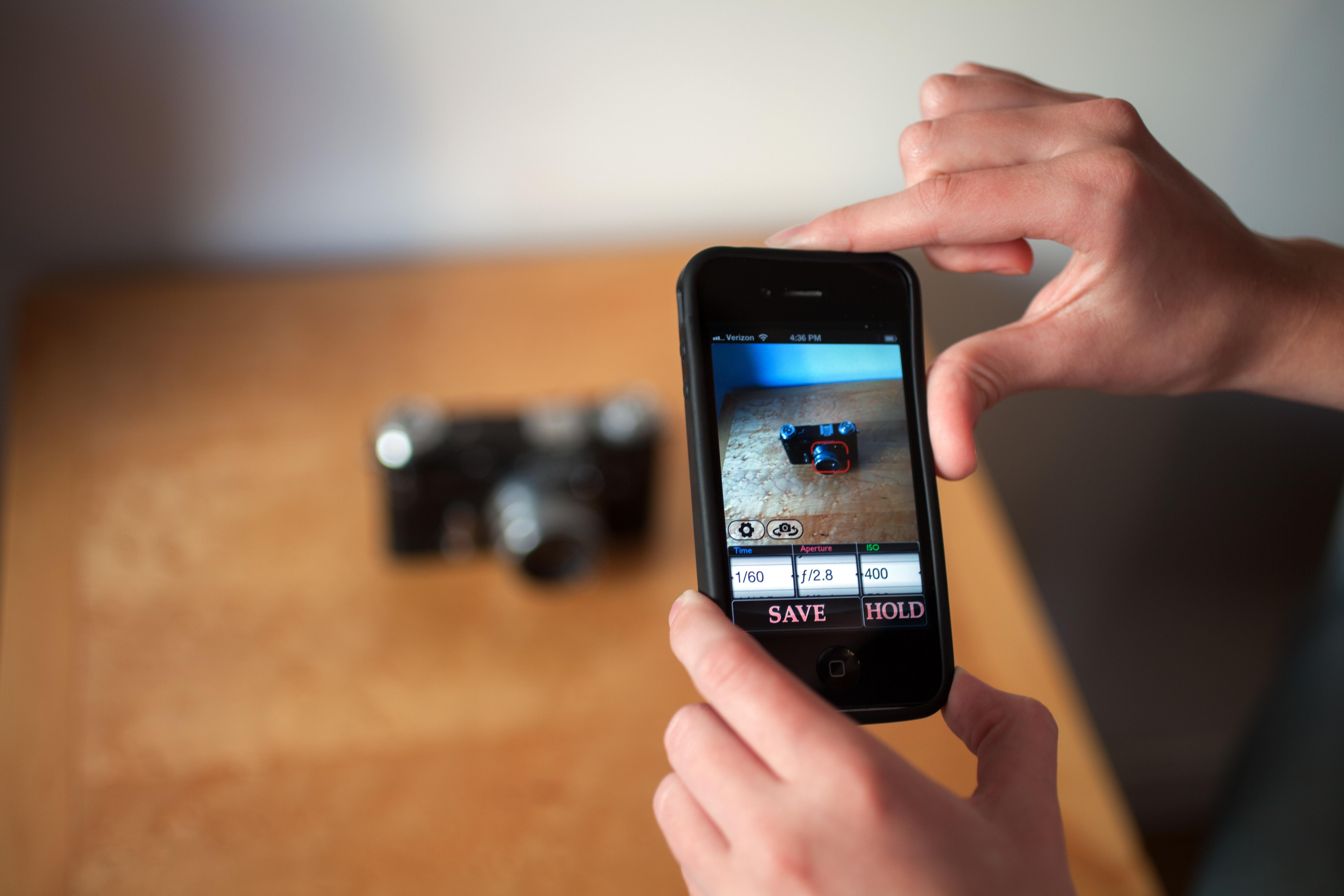 слепой тест фото со смартфона работа
