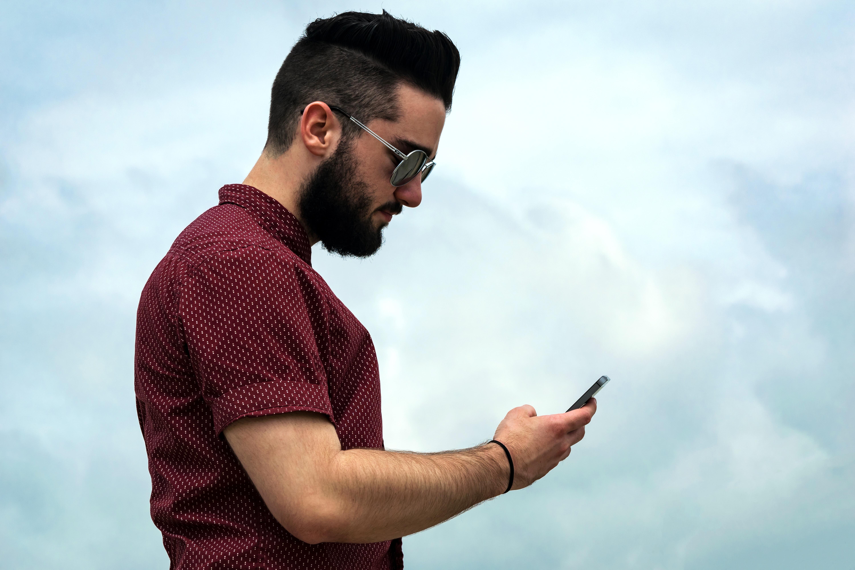 Картинки мужчины на смартфон болезни