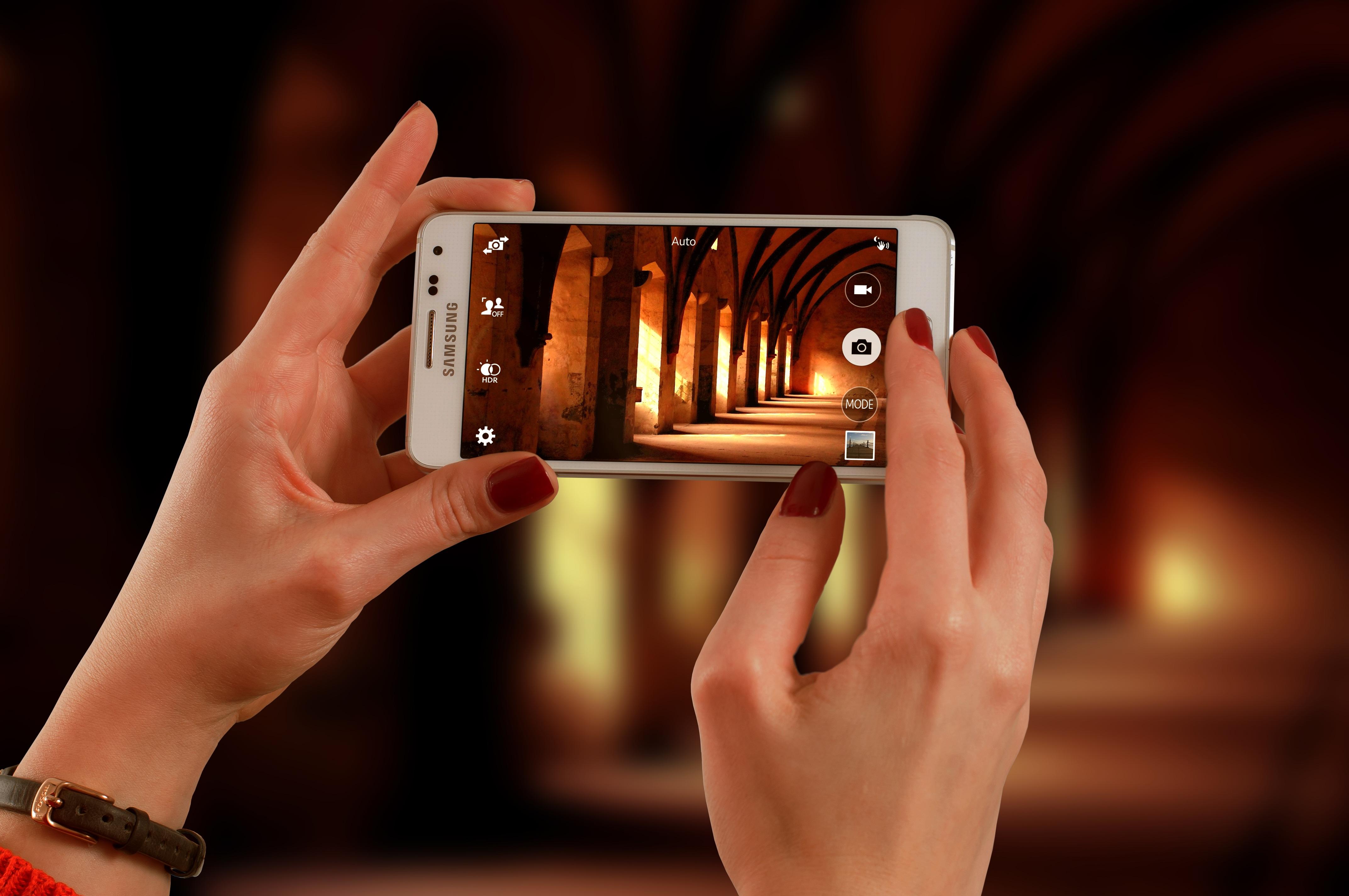 сеть телефон сам фотографирует без нажатия можете
