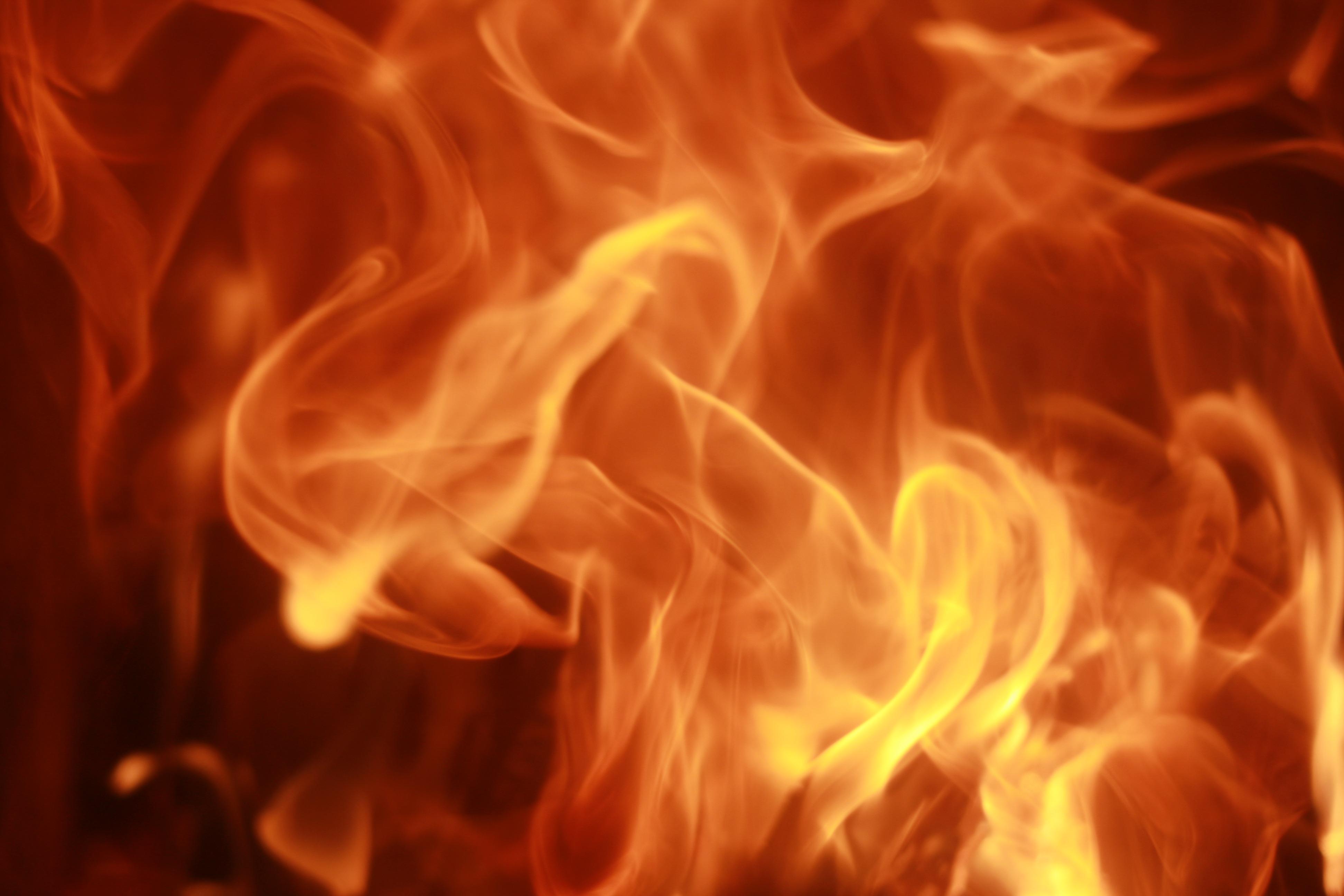 Необычные фото огня дыма