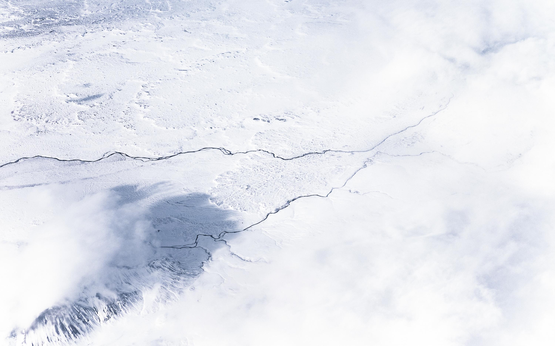 Gambar Musim Dingin Awan Langit Putih Gelombang Embun