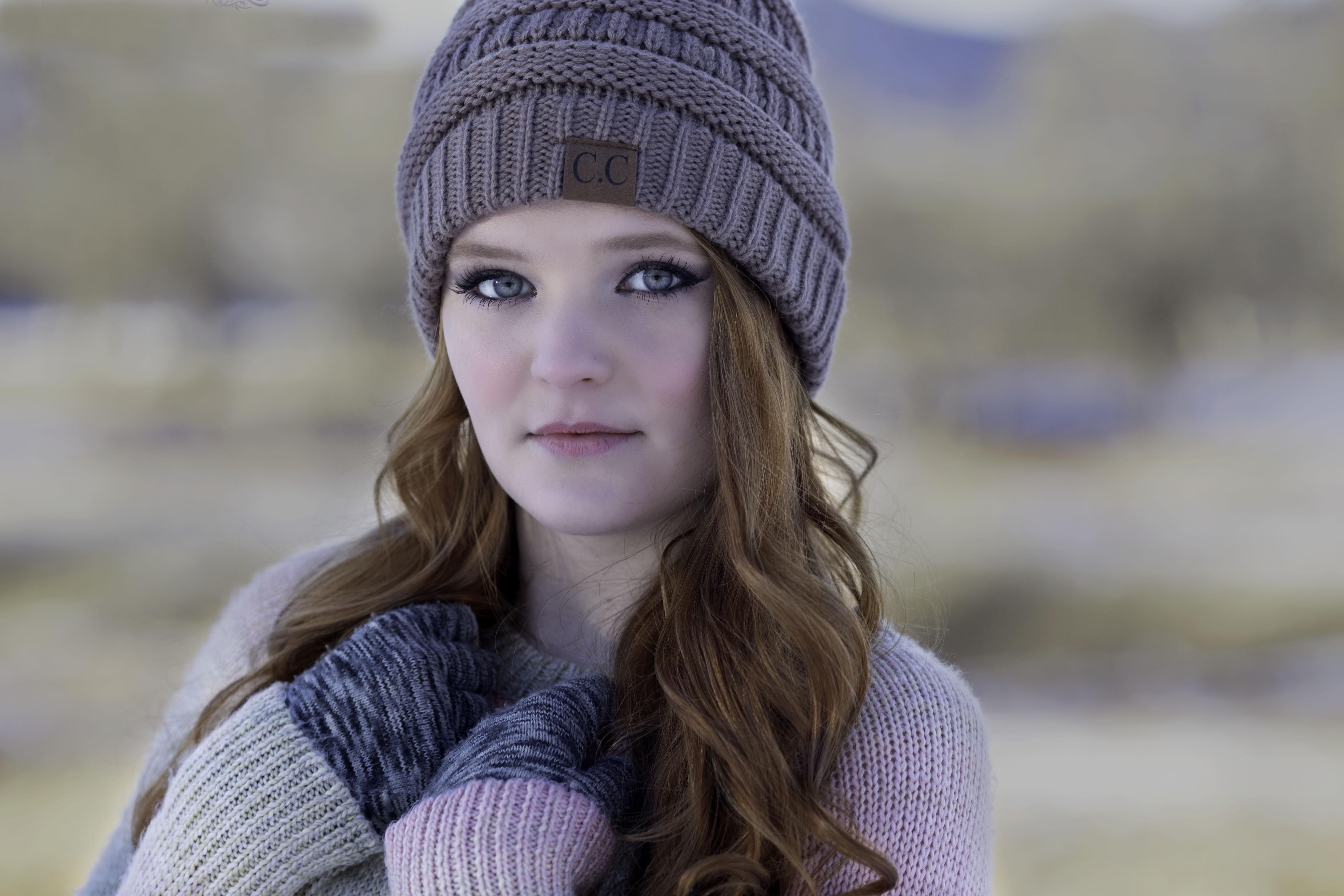 Fotos gratis : nieve, frío, invierno, niña, mujer, hembra, modelo ...