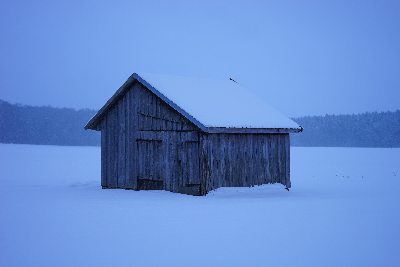 Kostenlose foto : Schnee, kalt, Winter, Haus, Frost, Scheune, Hütte ...