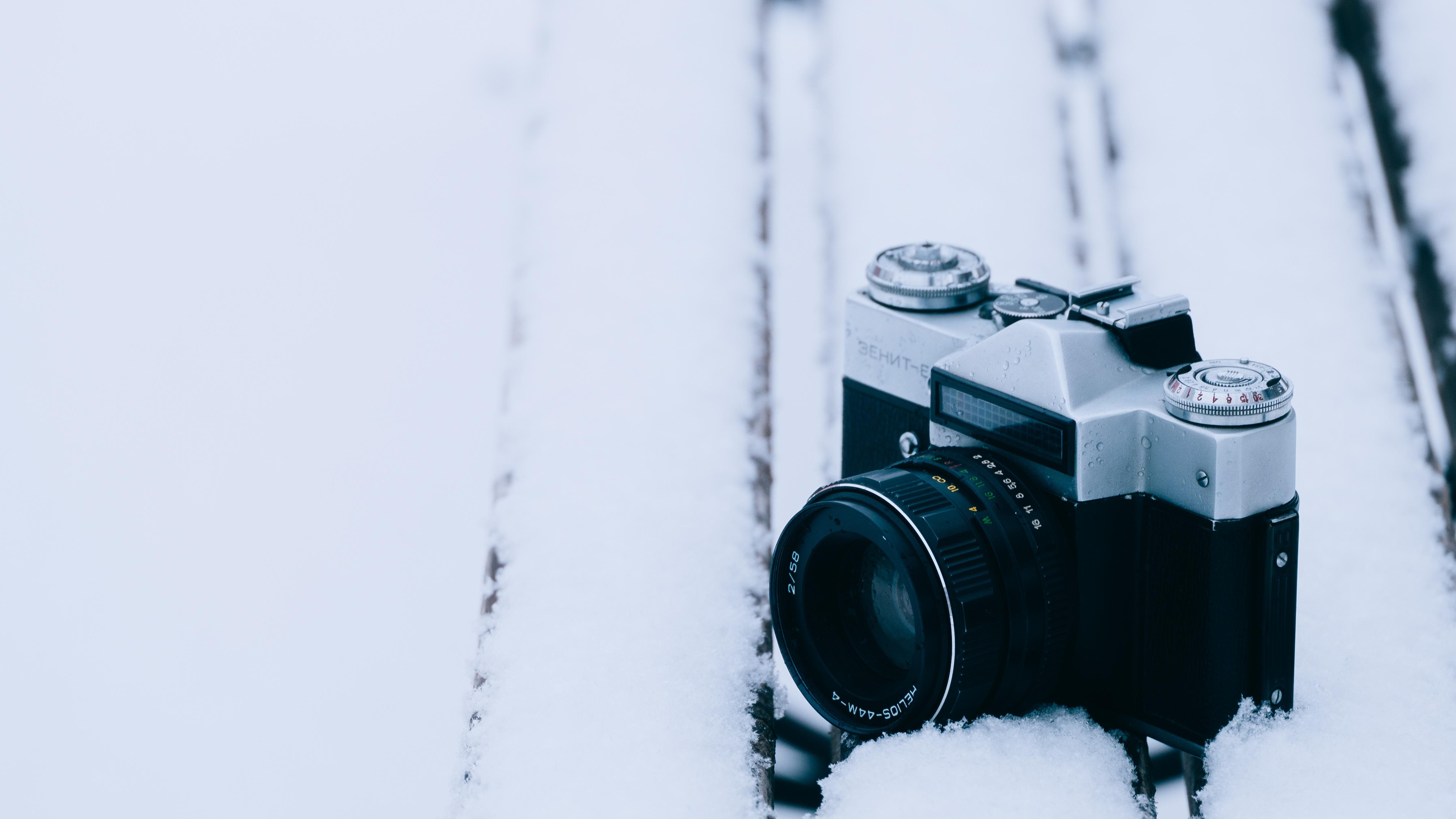 Значения на зеркалке для фотографий в снег