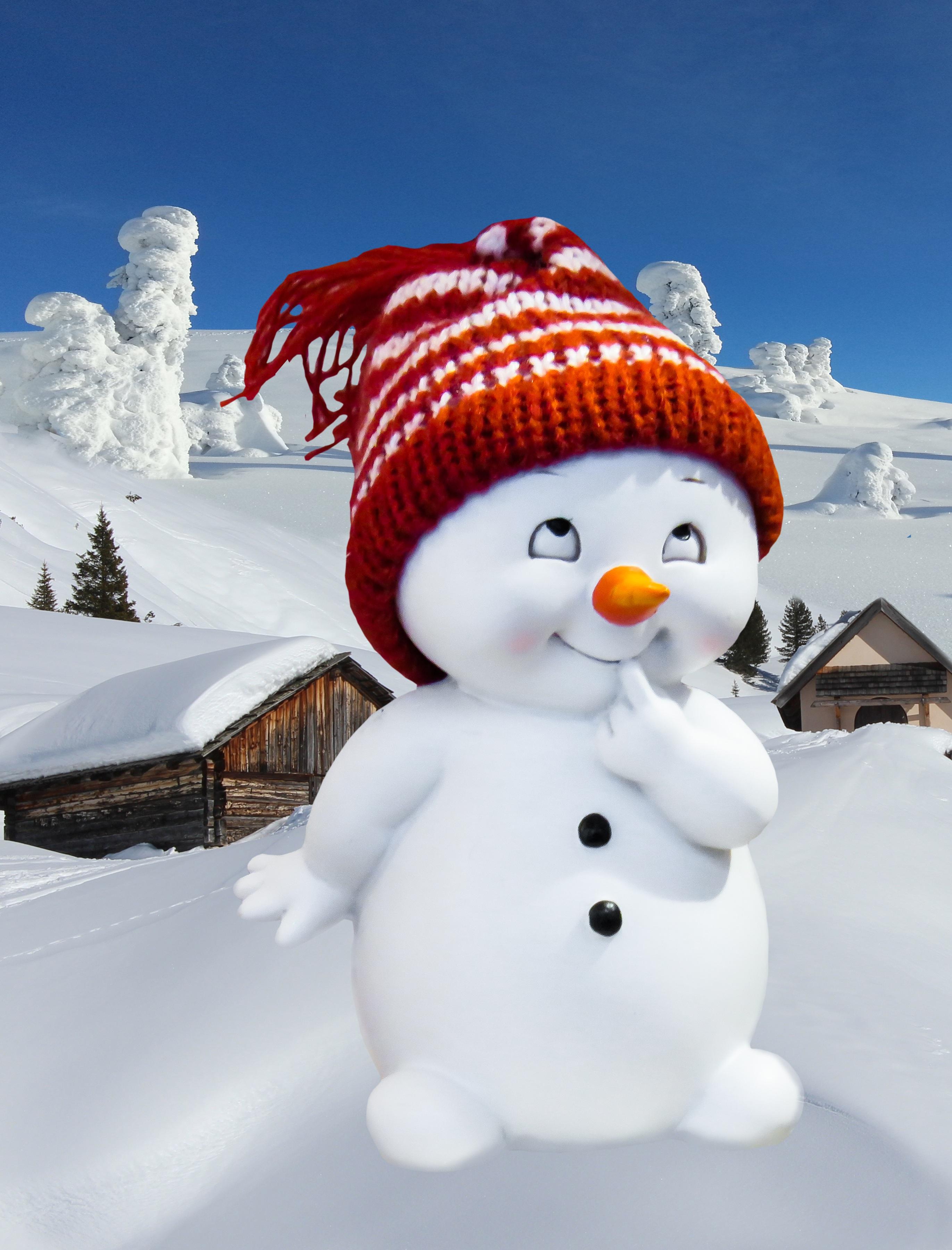 Картинки зима на телефон с приколом