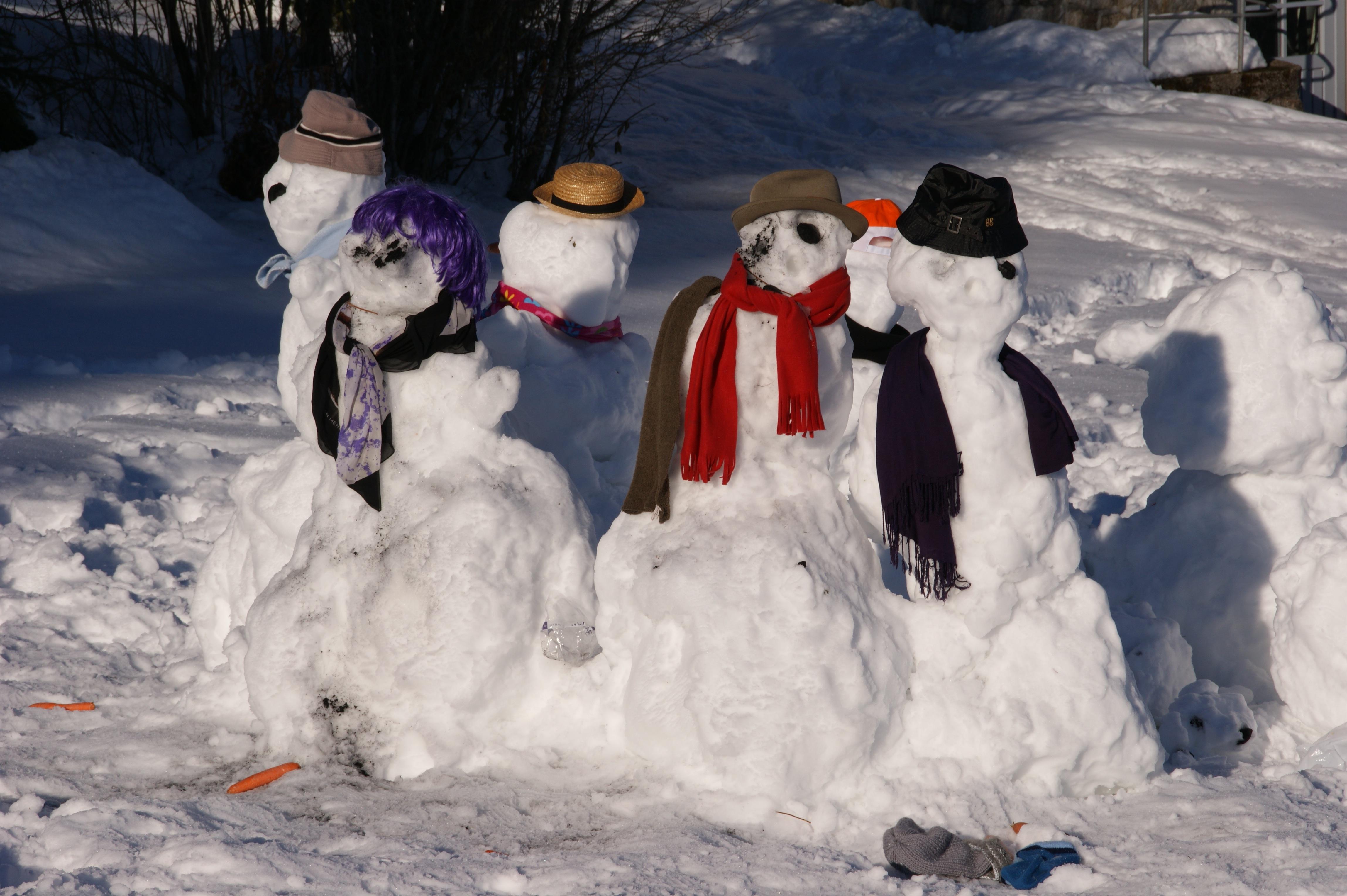 Картинки и фото веселые снеговиков